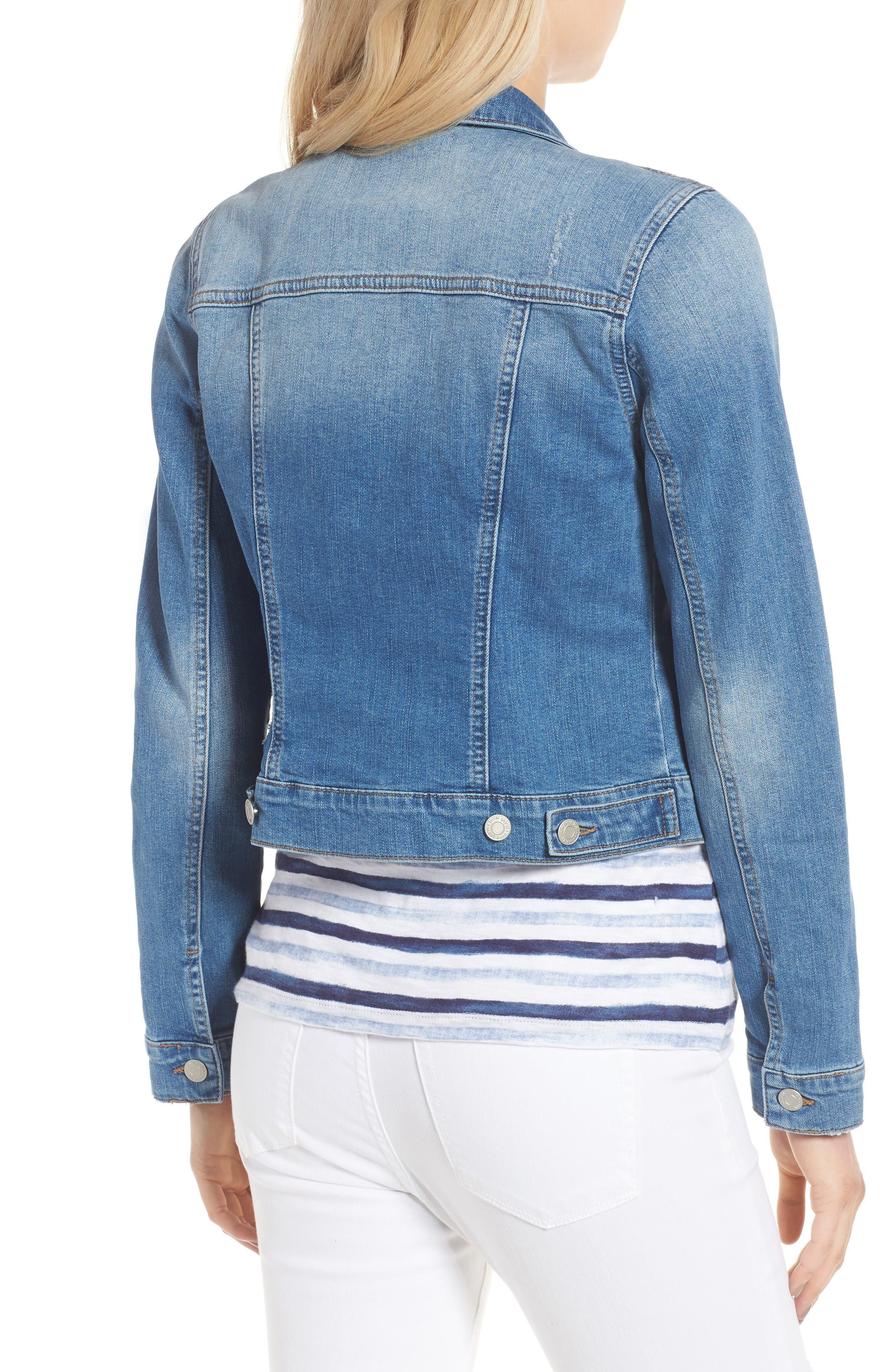 Alternate Image 2  - Mavi Jeans Samantha Denim Jacket