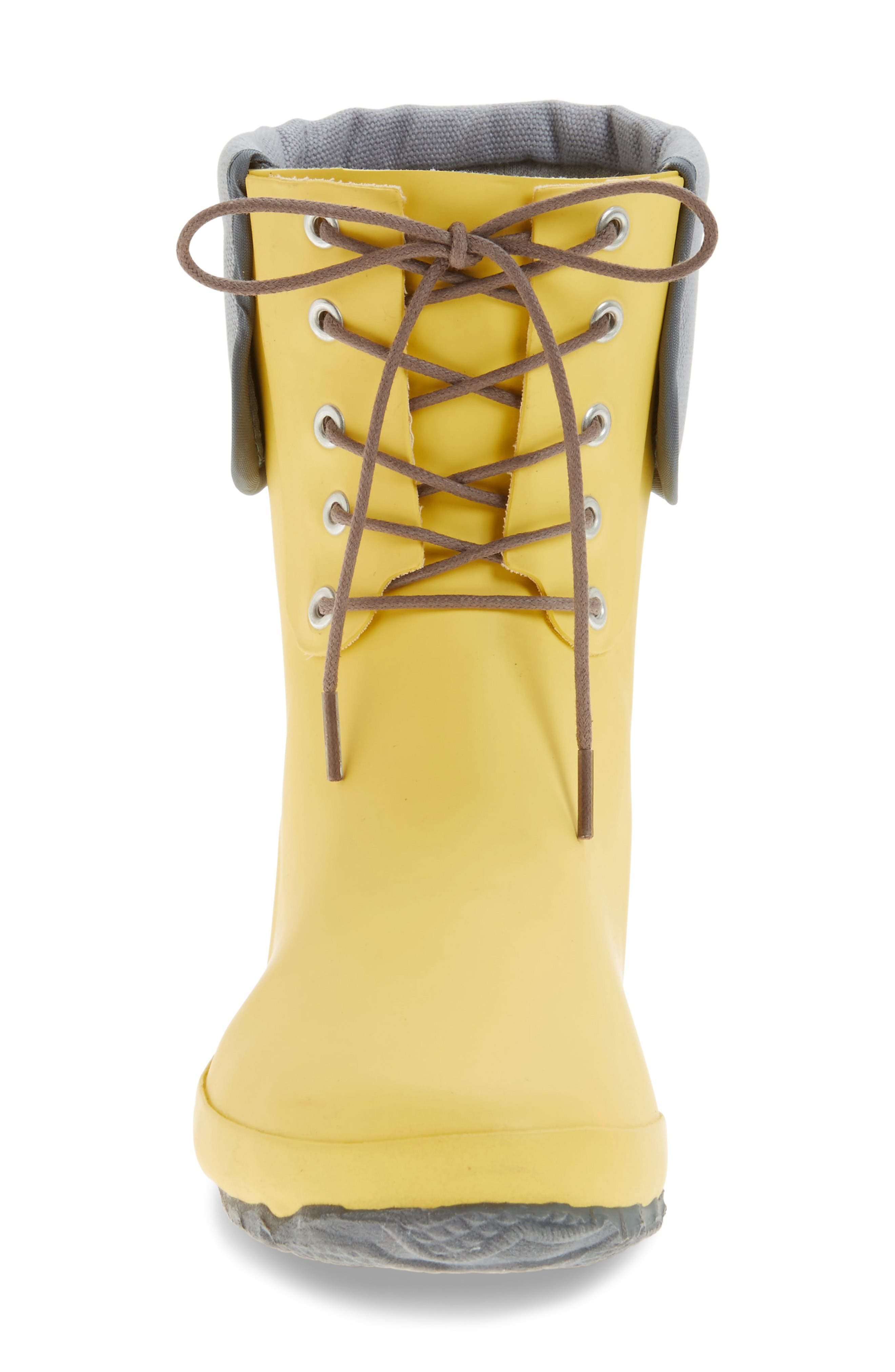 Alternate Image 3  - däv Lace-Up Mid Weatherproof Boot (Women)