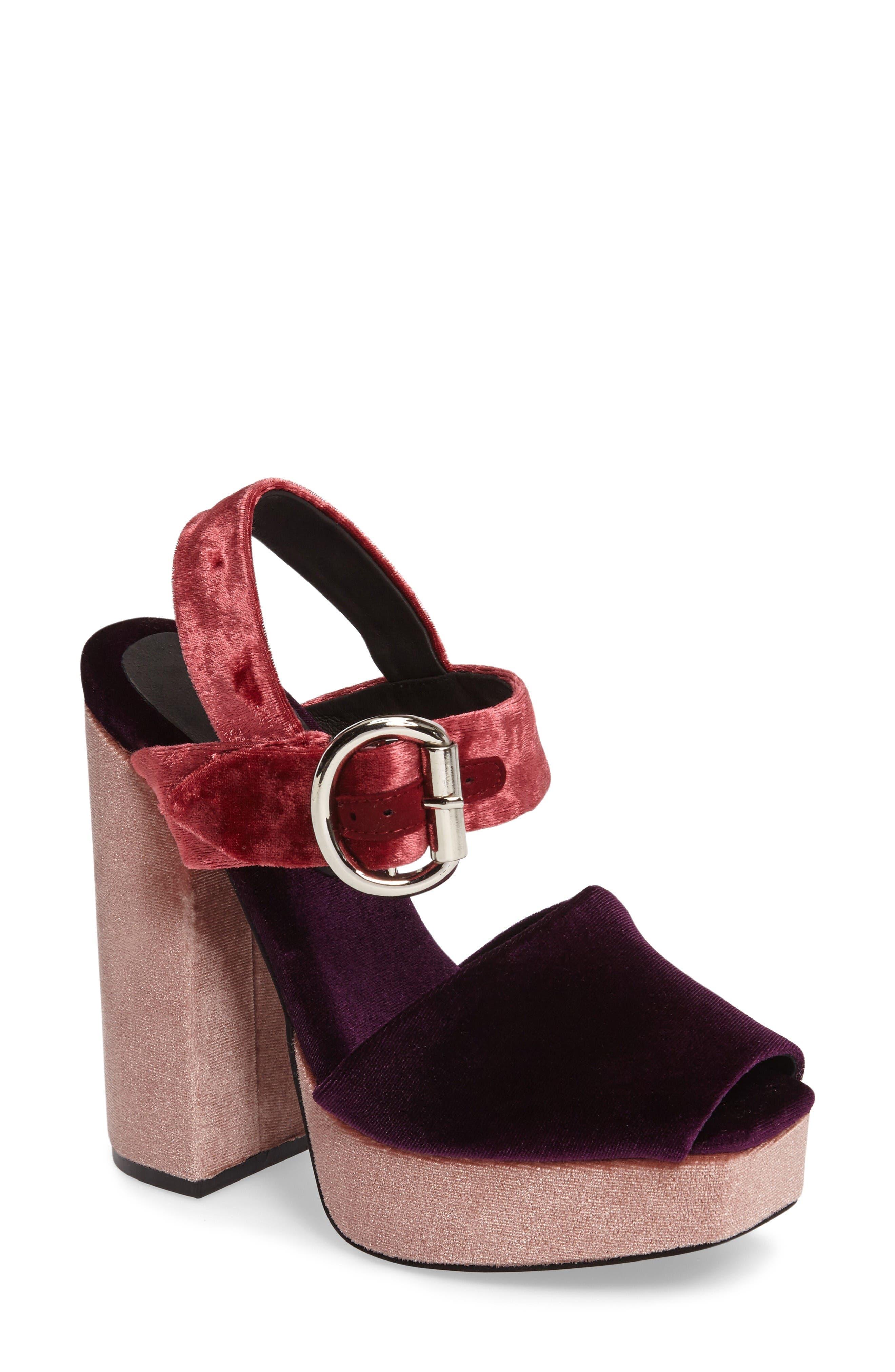 Alternate Image 1 Selected - Jeffrey Campbell Mitra Platform Sandal (Women)