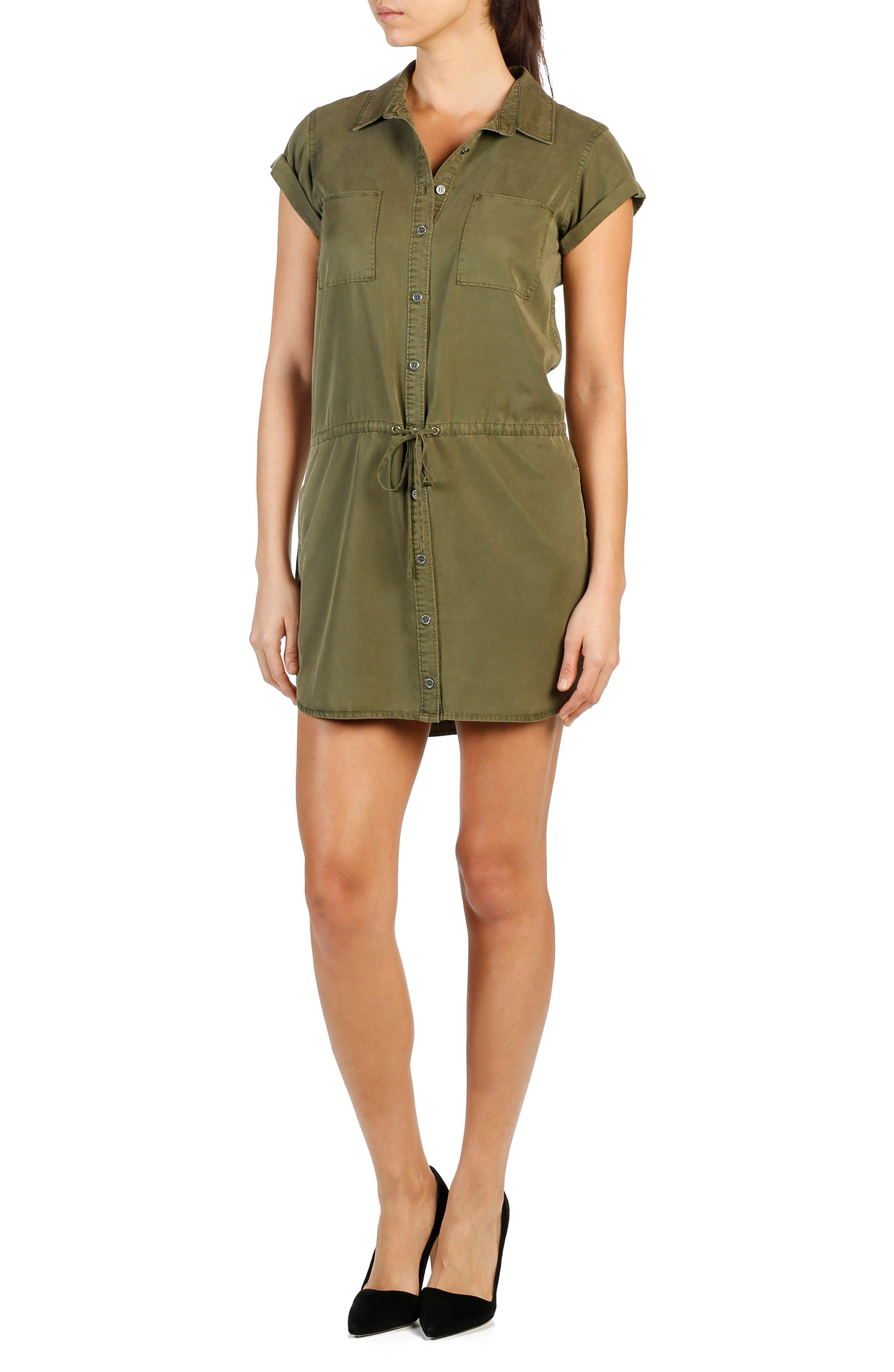 PAIGE Mila Shirtdress