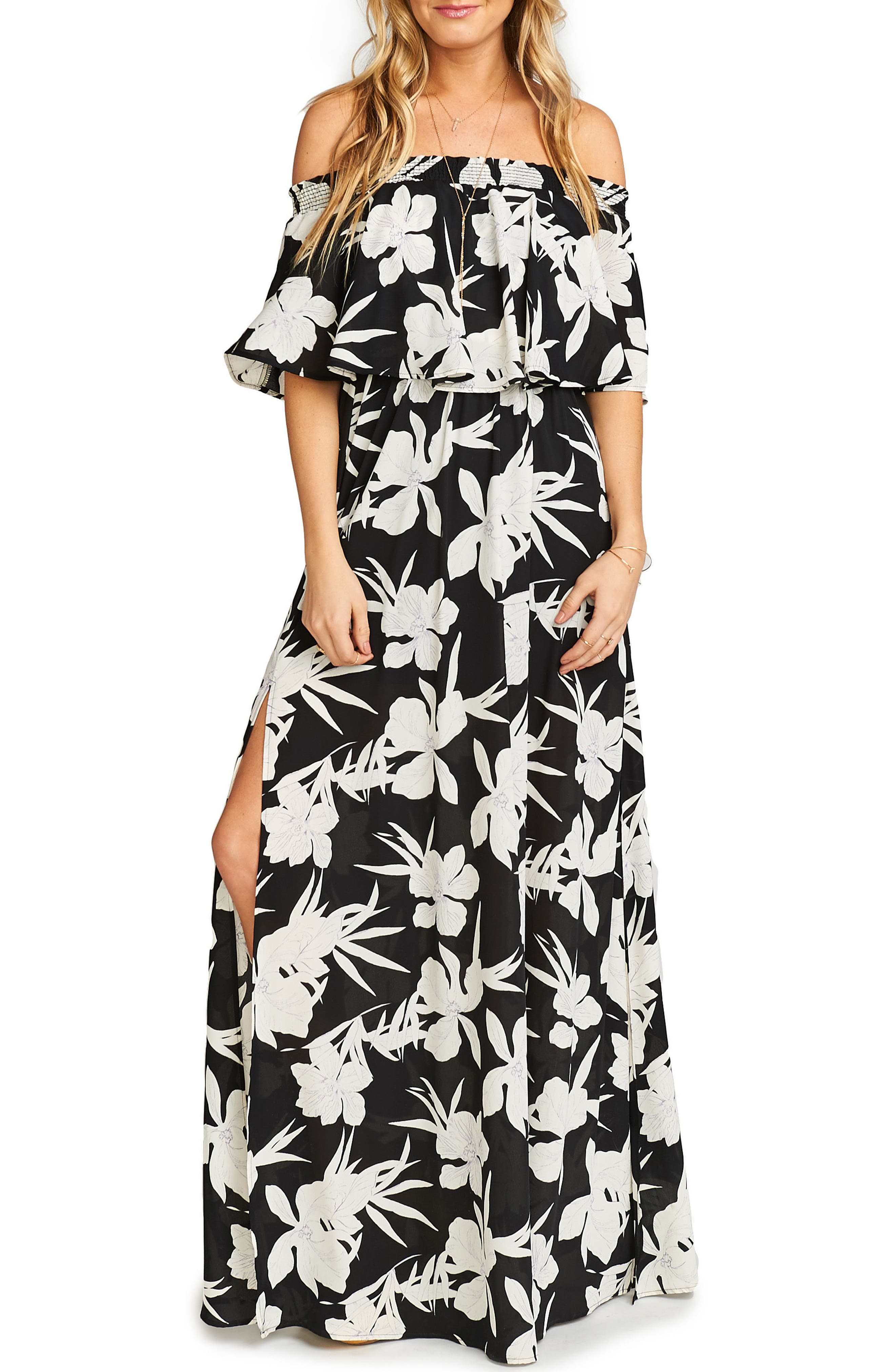 Alternate Image 1 Selected - Show Me Your Mumu Hacienda Convertible Gown