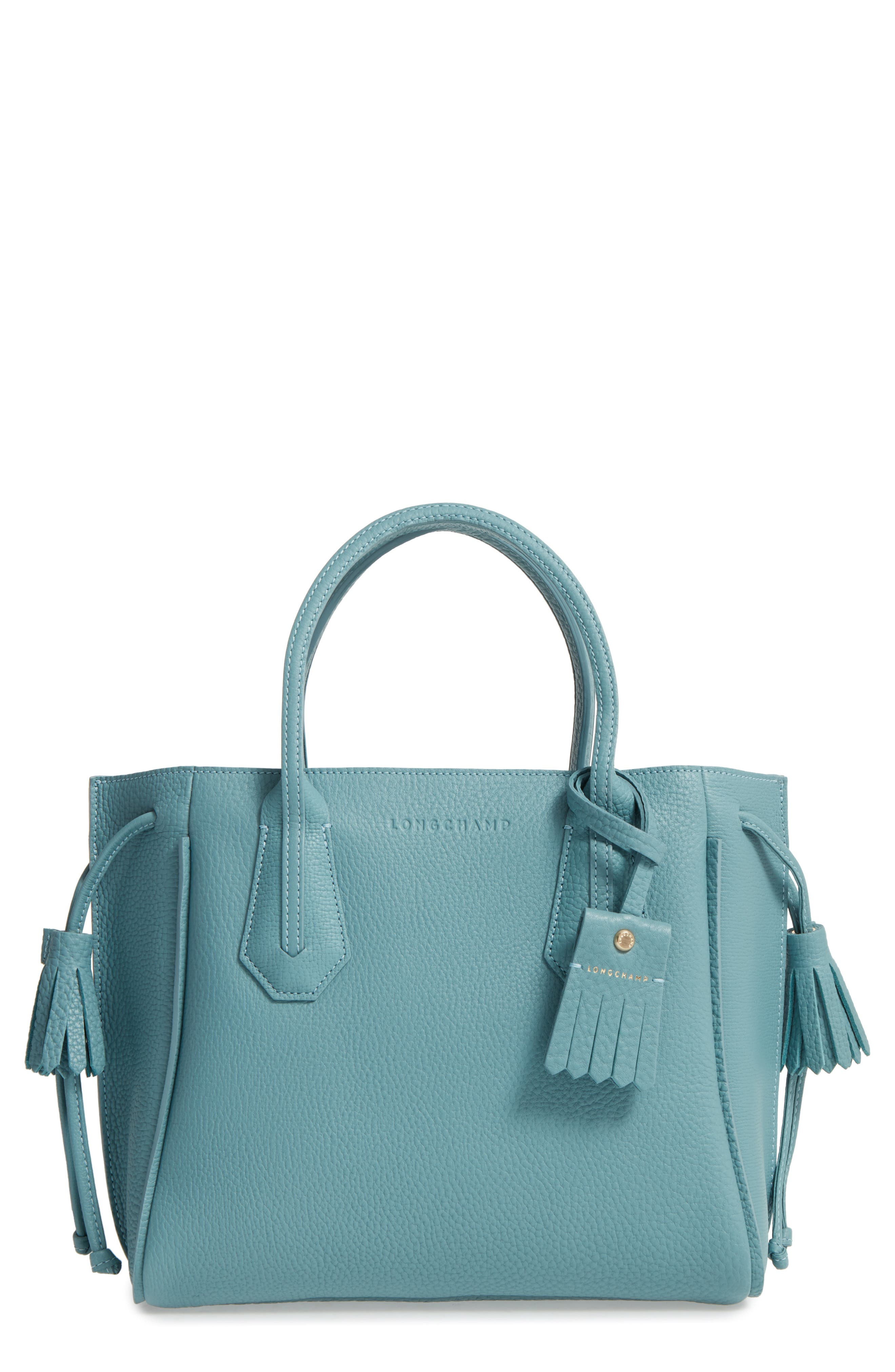 Main Image - Longchamp 'Small Penelope' Leather Tote
