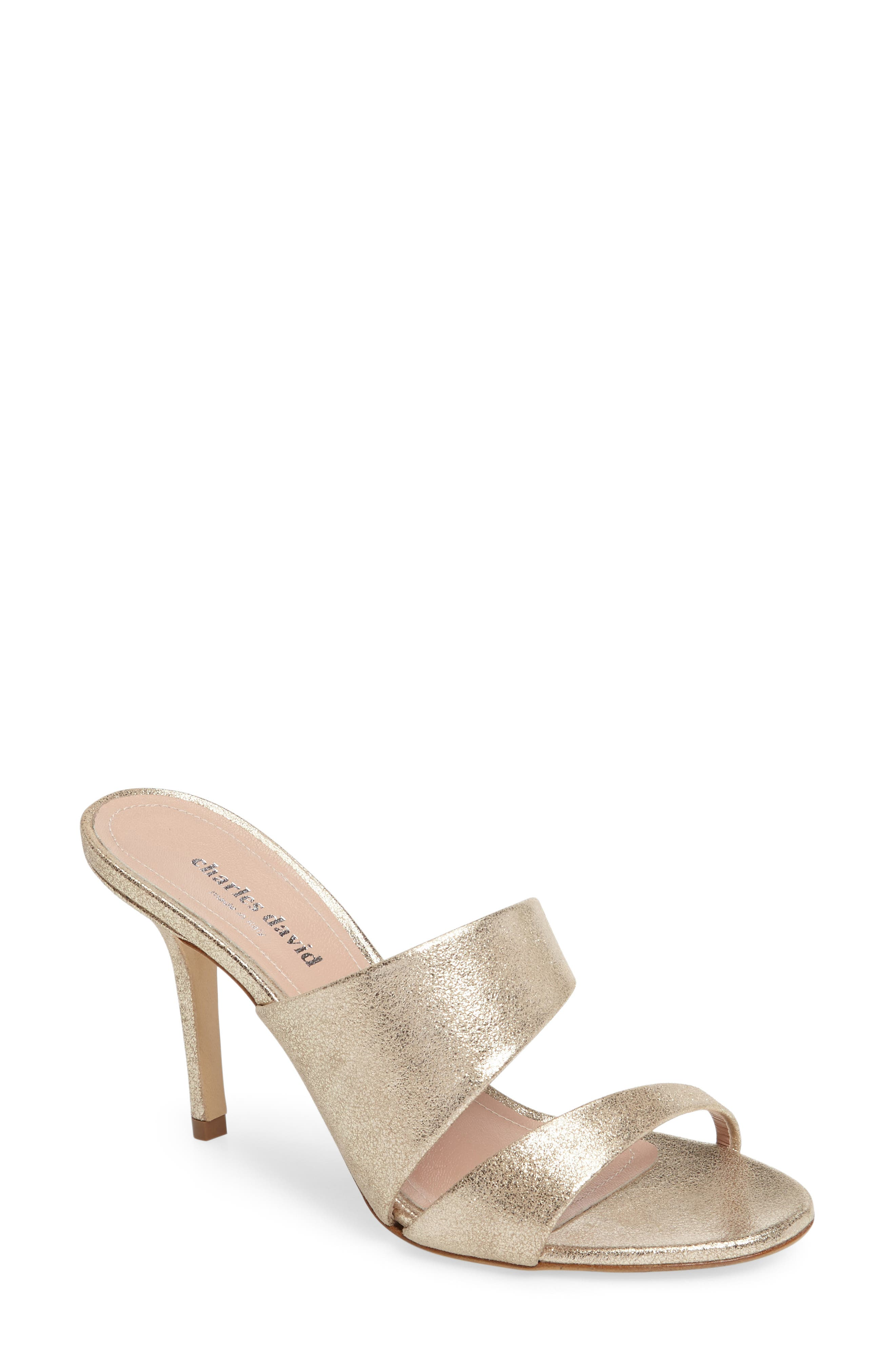 Status Sandal,                         Main,                         color, Champagne Leather