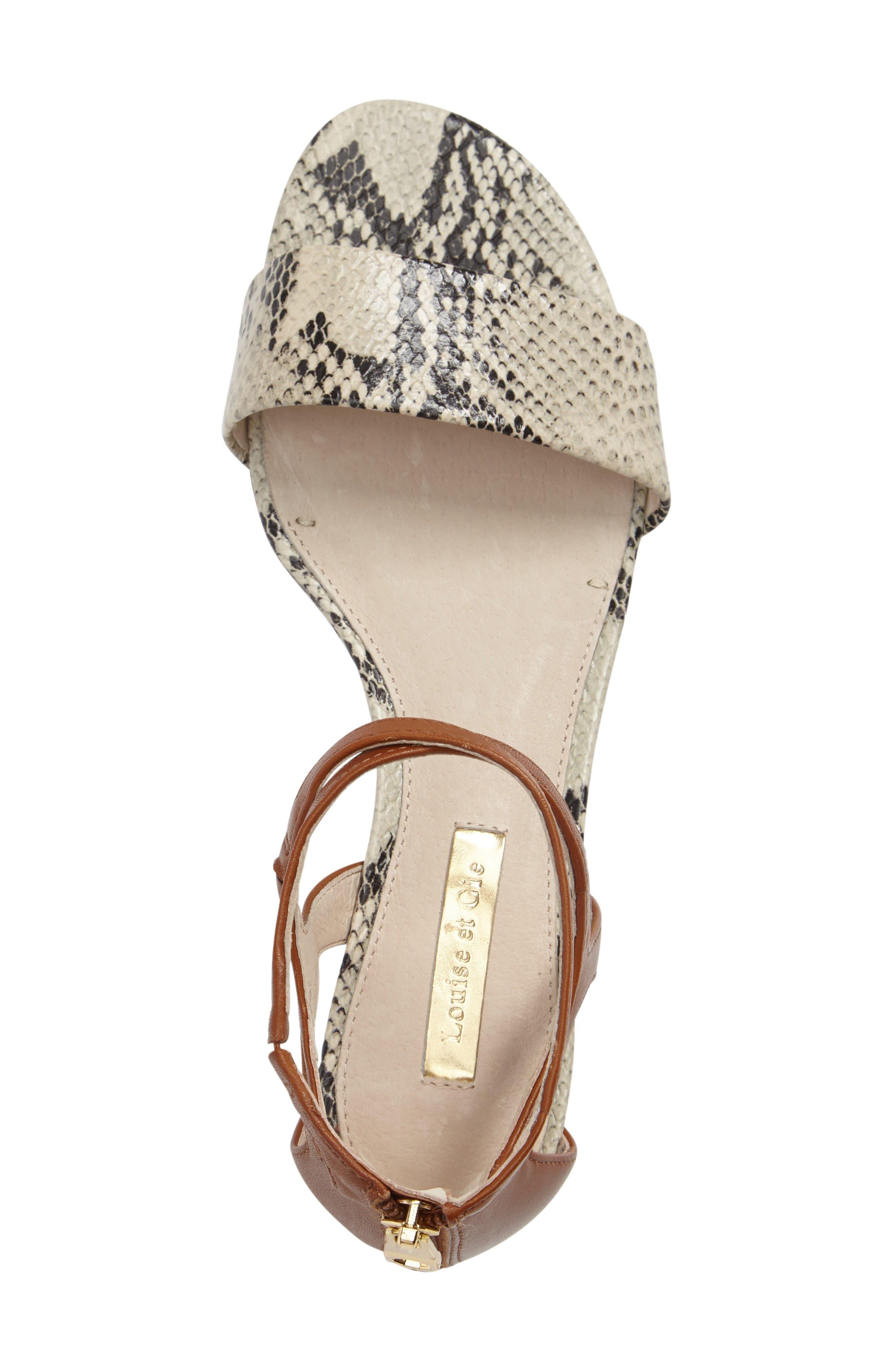 Alternate Image 3  - Louise et Cie Adley Ankle Strap Sandal (Women)