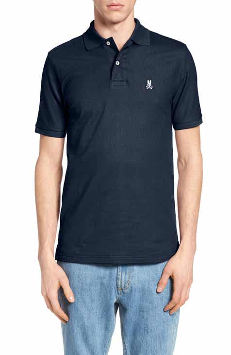 533821b14 Psycho Bunny The Classic Slim Fit Piqué Polo