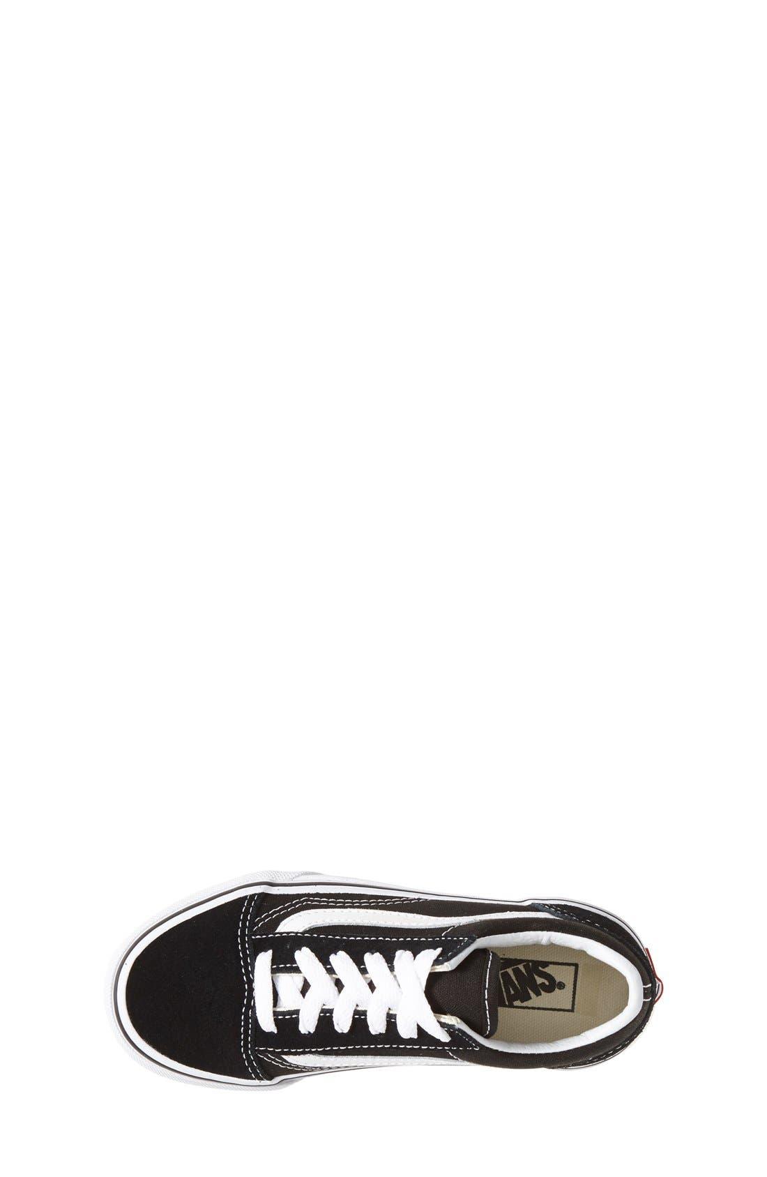 Alternate Image 3  - Vans 'Old Skool' Skate Sneaker (Toddler, Little Kid & Big Kid)