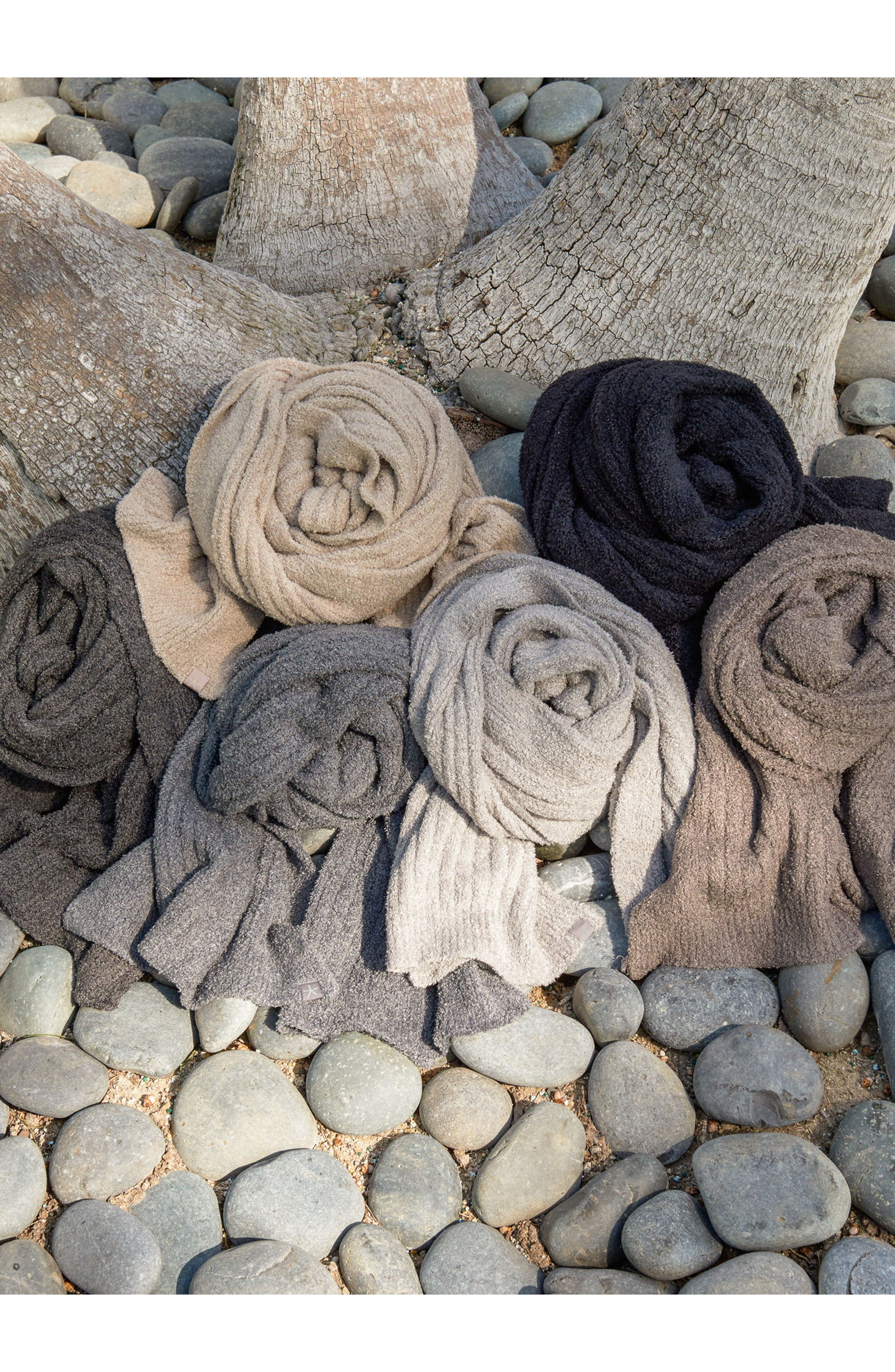 Alternate Image 4  - Barefoot Dreams® CozyChic Lite® Ribbed Scarf
