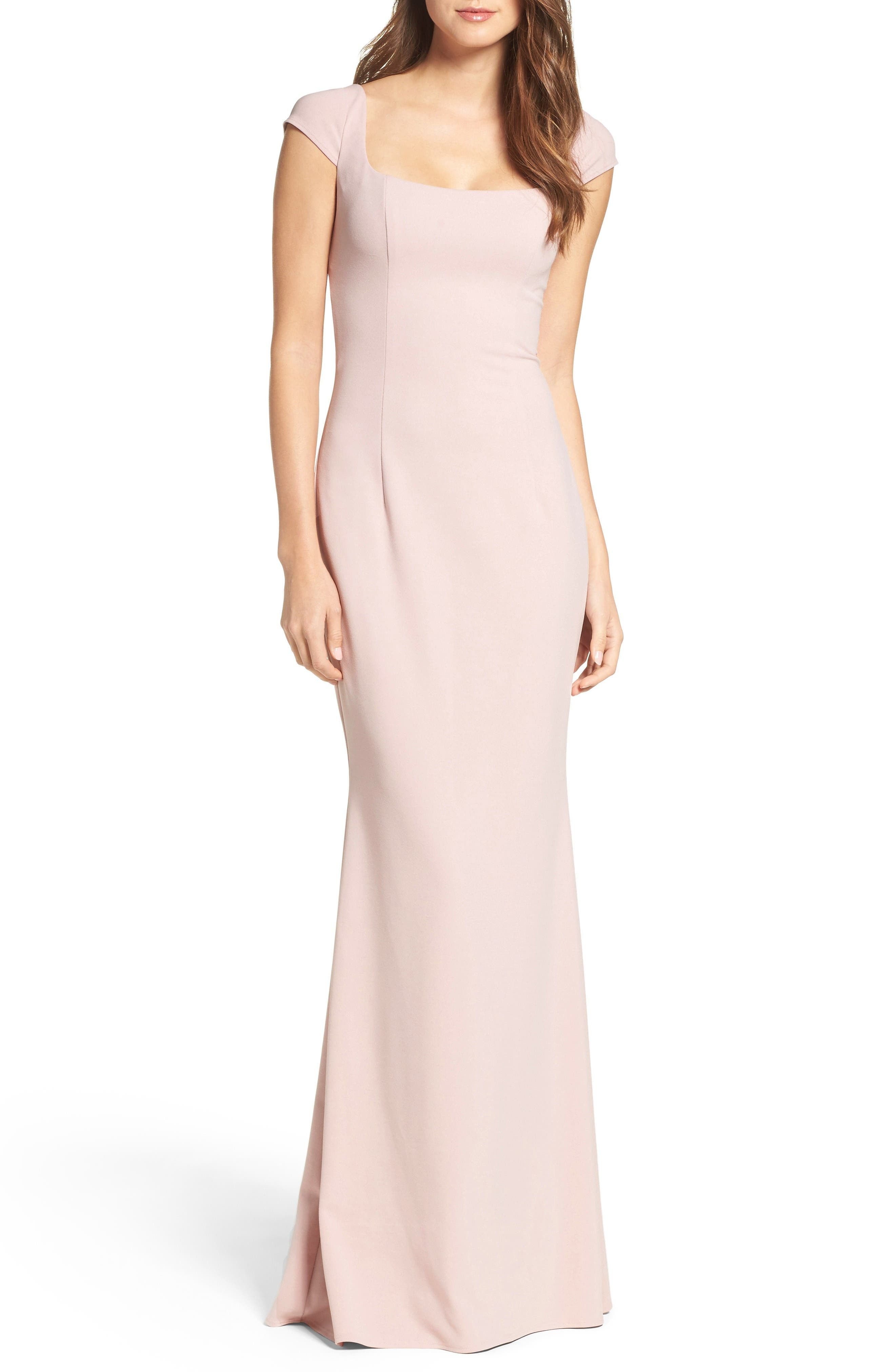 Katie May Georgia Crepe Gown