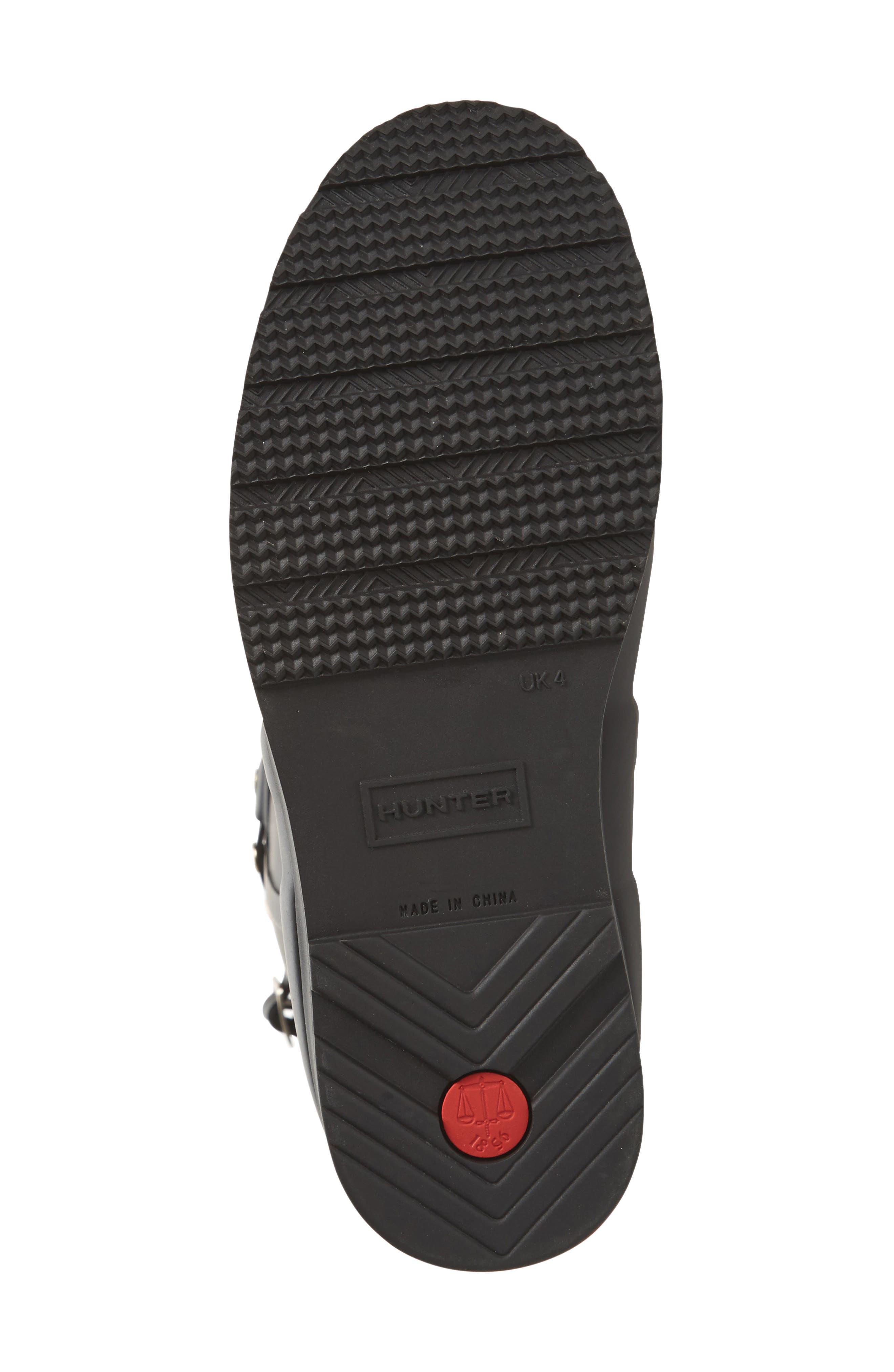 Alternate Image 4  - Hunter Original Tall Studded Wedge Rain Boot (Women)
