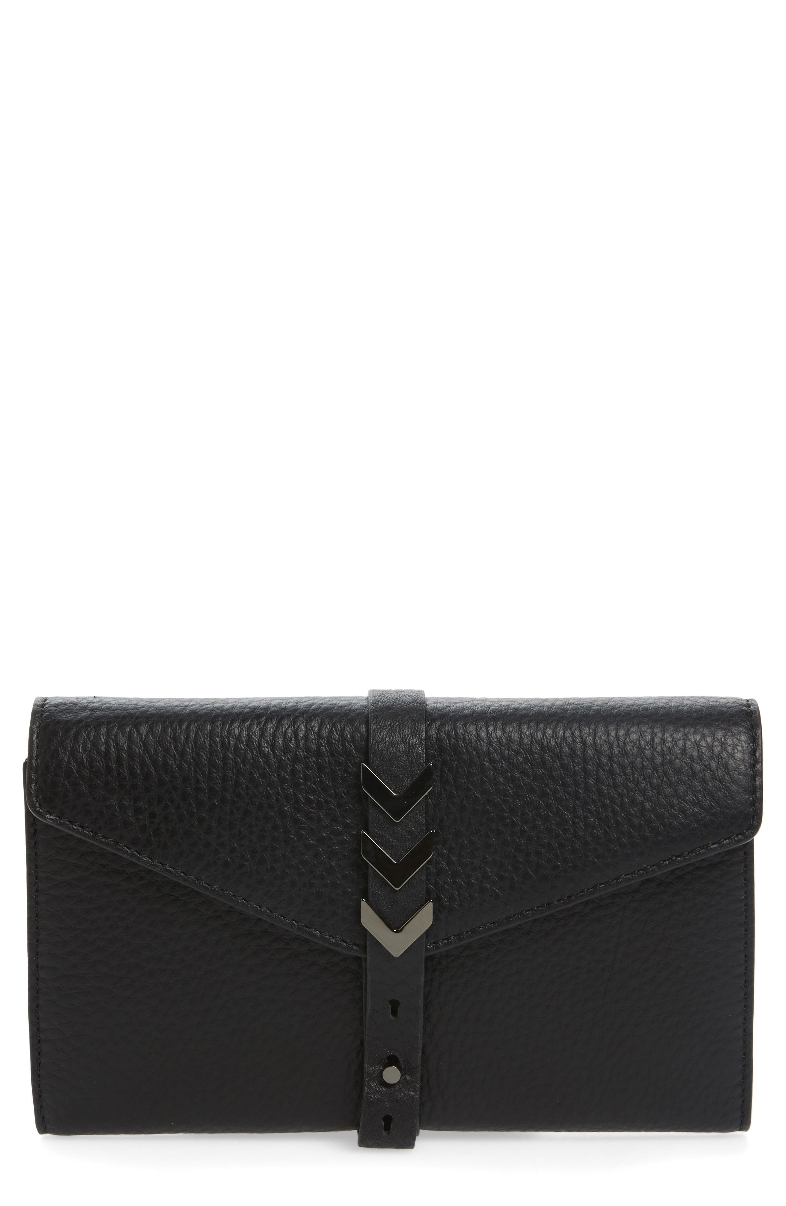 Alternate Image 1 Selected - Mackage Atlas Leather Envelope Wallet