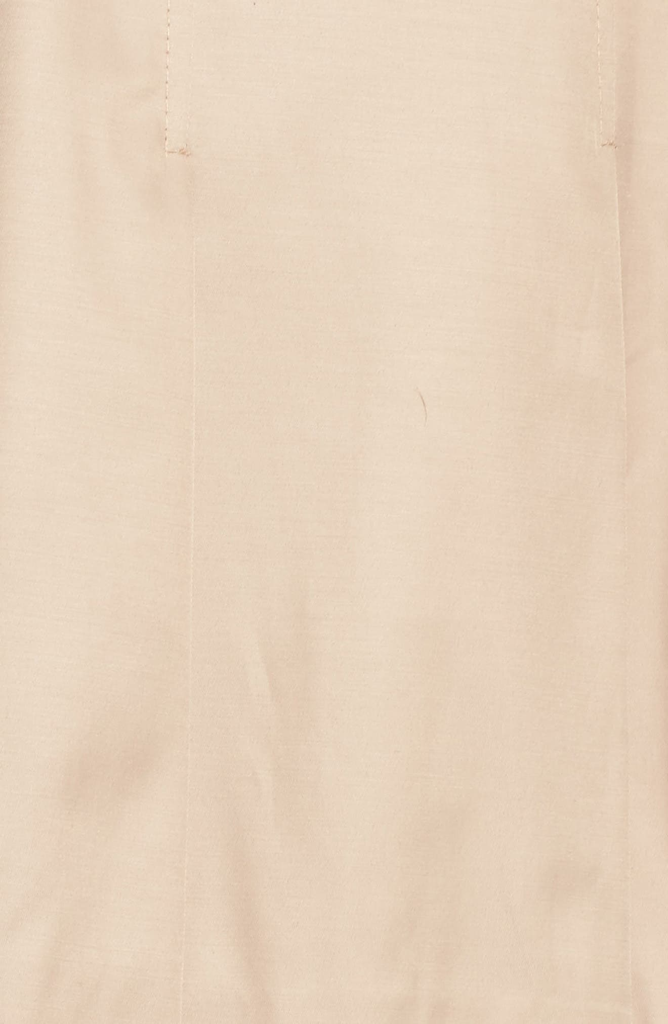 'Scarpa' Single Breasted Trench Coat,                             Alternate thumbnail 5, color,                             New Sand