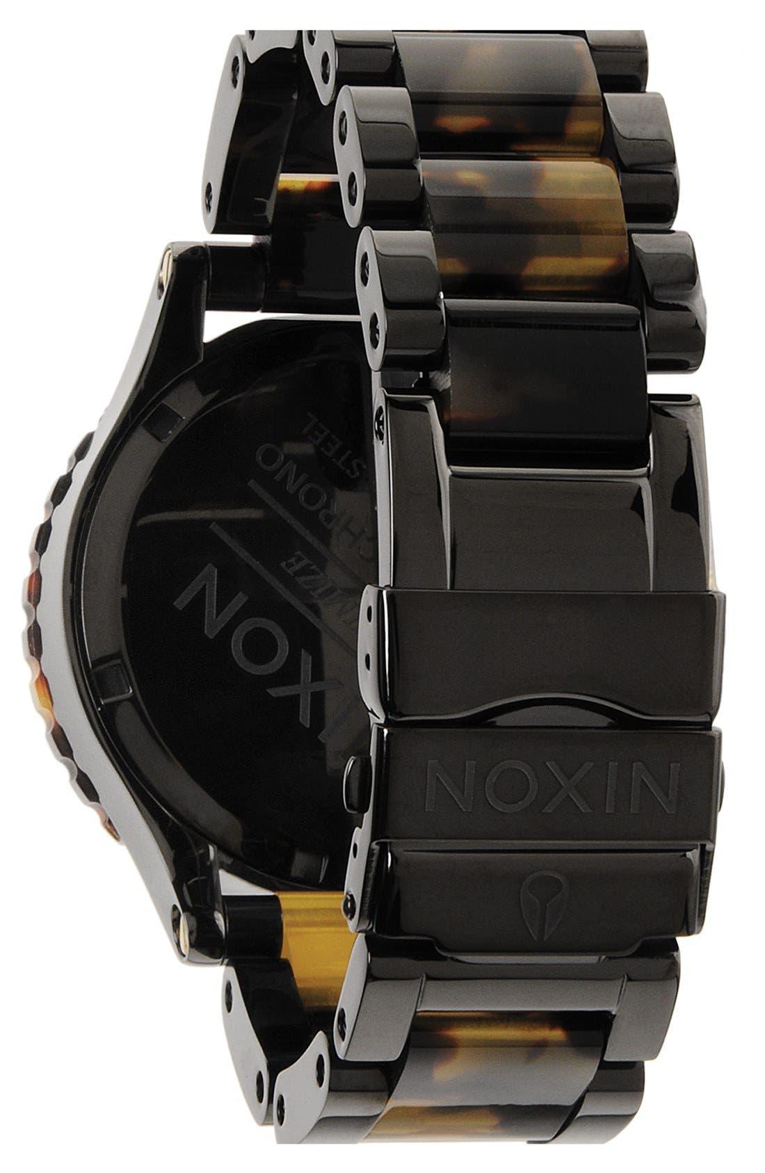 'The 42-20 Chrono' Watch, 42mm,                             Alternate thumbnail 3, color,                             Black/Tort