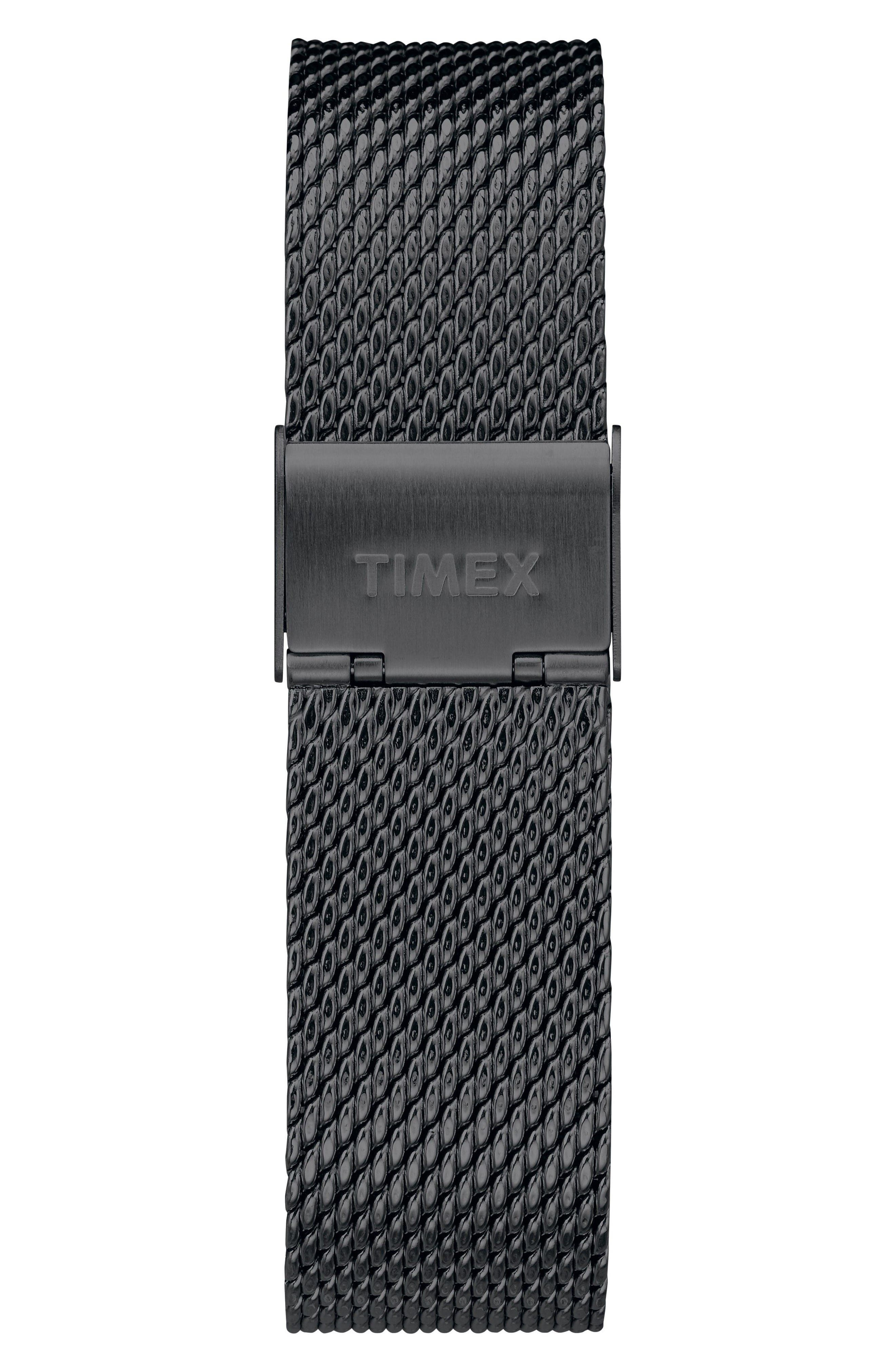 Alternate Image 2  - Timex® Fairfield Chronograph Mesh Strap Watch, 41mm