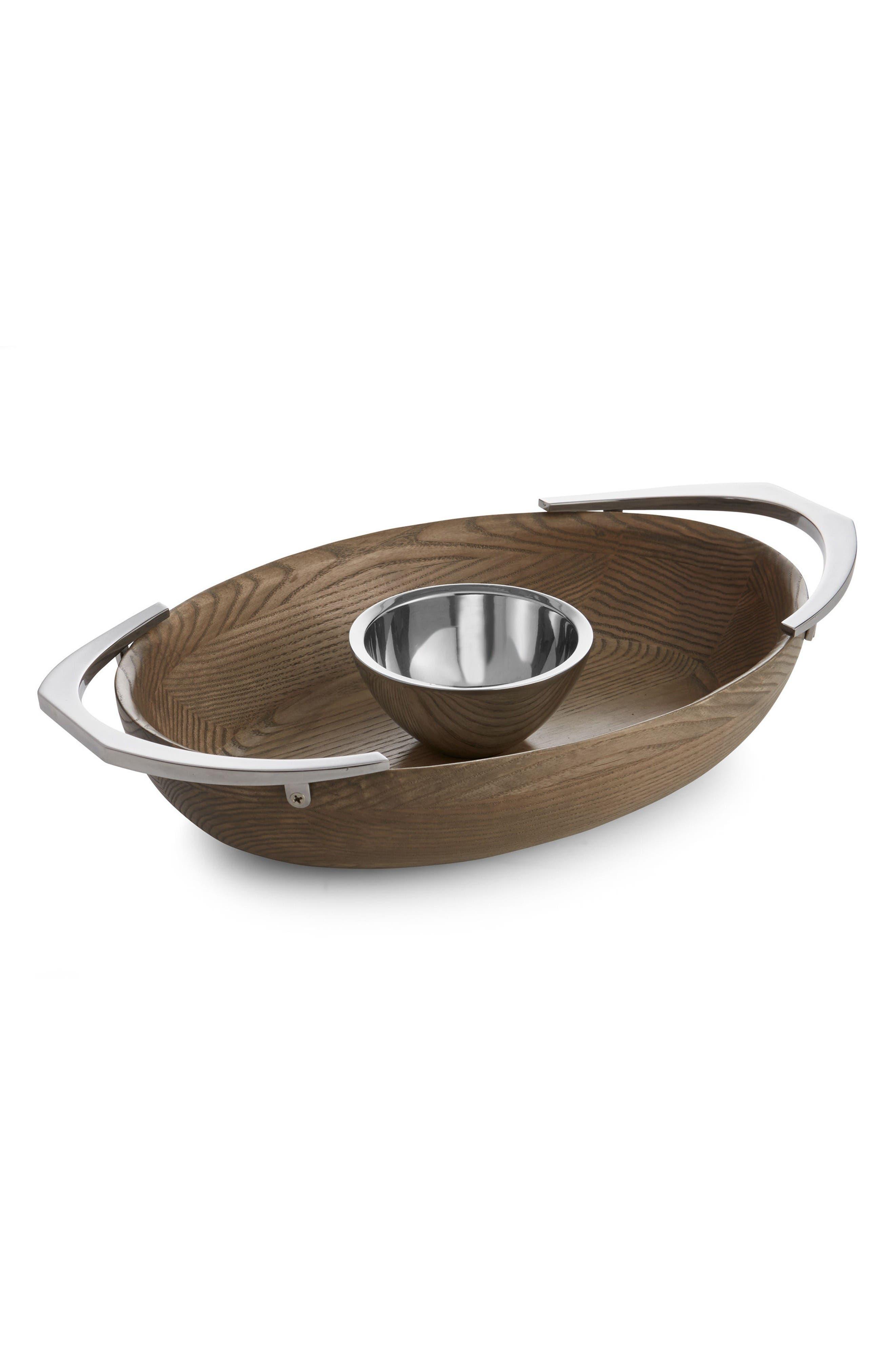 Alternate Image 1 Selected - Nambé Cabo Chip & Dip Bowl