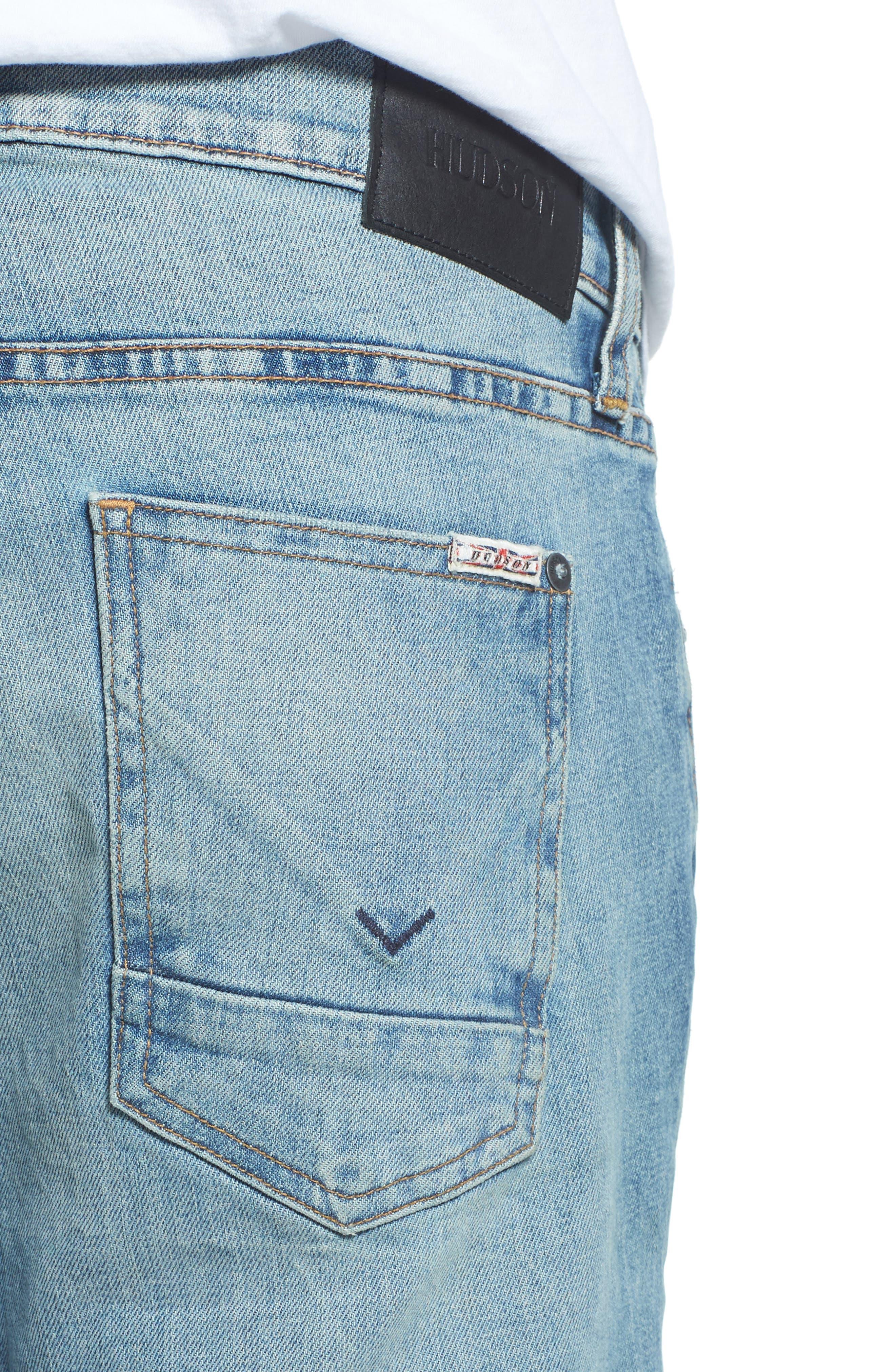 Alternate Image 4  - Hudson Jeans Blinder Biker Skinny Fit Jeans