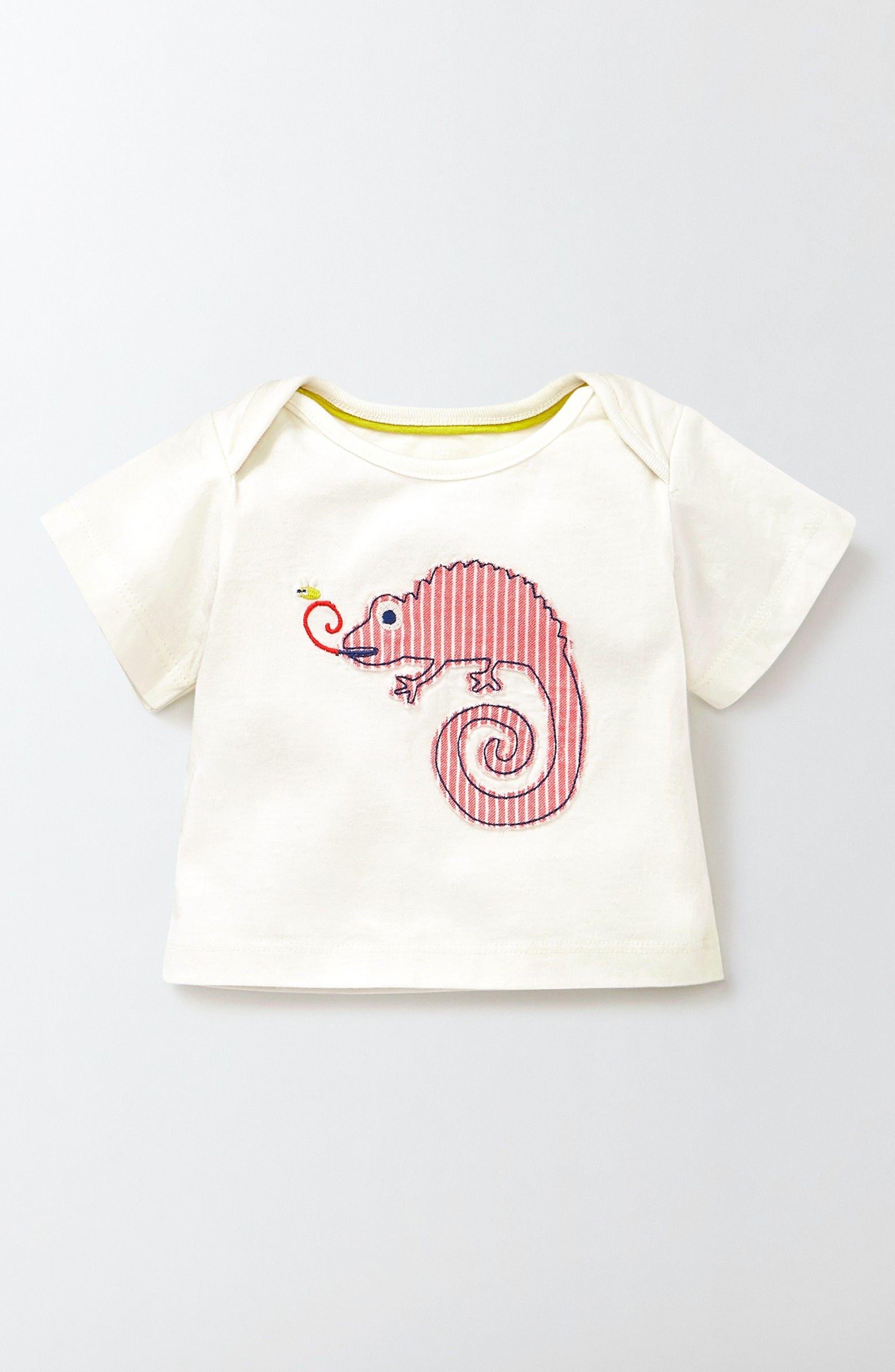 Alternate Image 1 Selected - Mini Boden Jungle Animal T-Shirt (Baby Boys & Toddler Boys)
