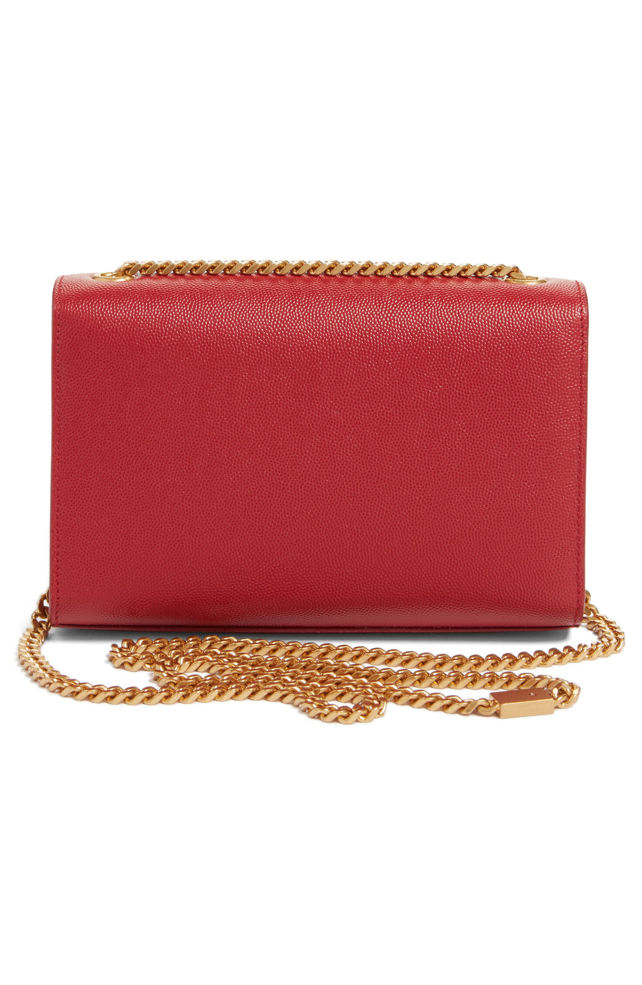 Alternate Image 2  - Saint Laurent Small Kate Calfskin Leather Crossbody Bag