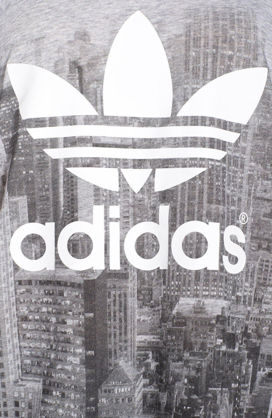 Alternate Image 4  - adidas Originals Skyline Print Tee