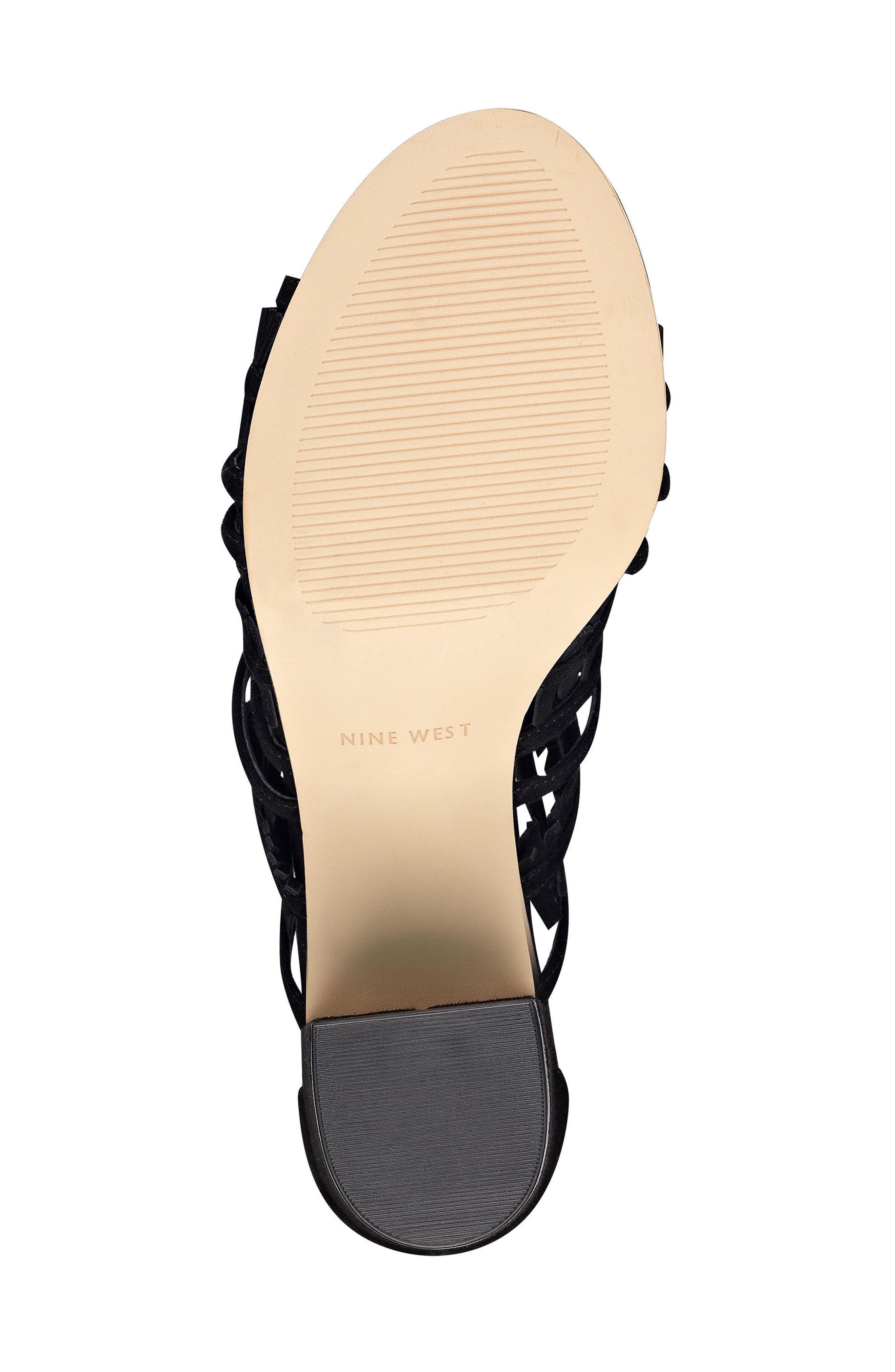 Alternate Image 5  - Nine West Genie Lace-Up Sandal (Women)