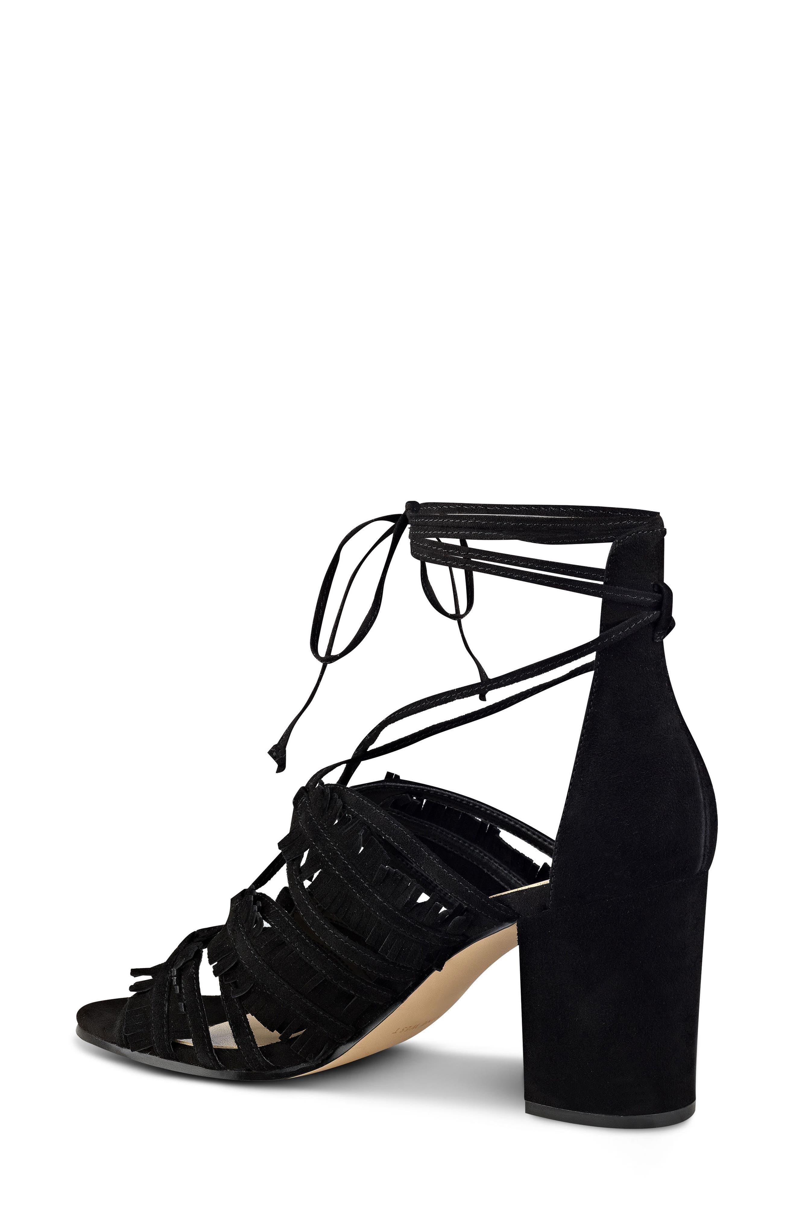 Alternate Image 2  - Nine West Genie Lace-Up Sandal (Women)