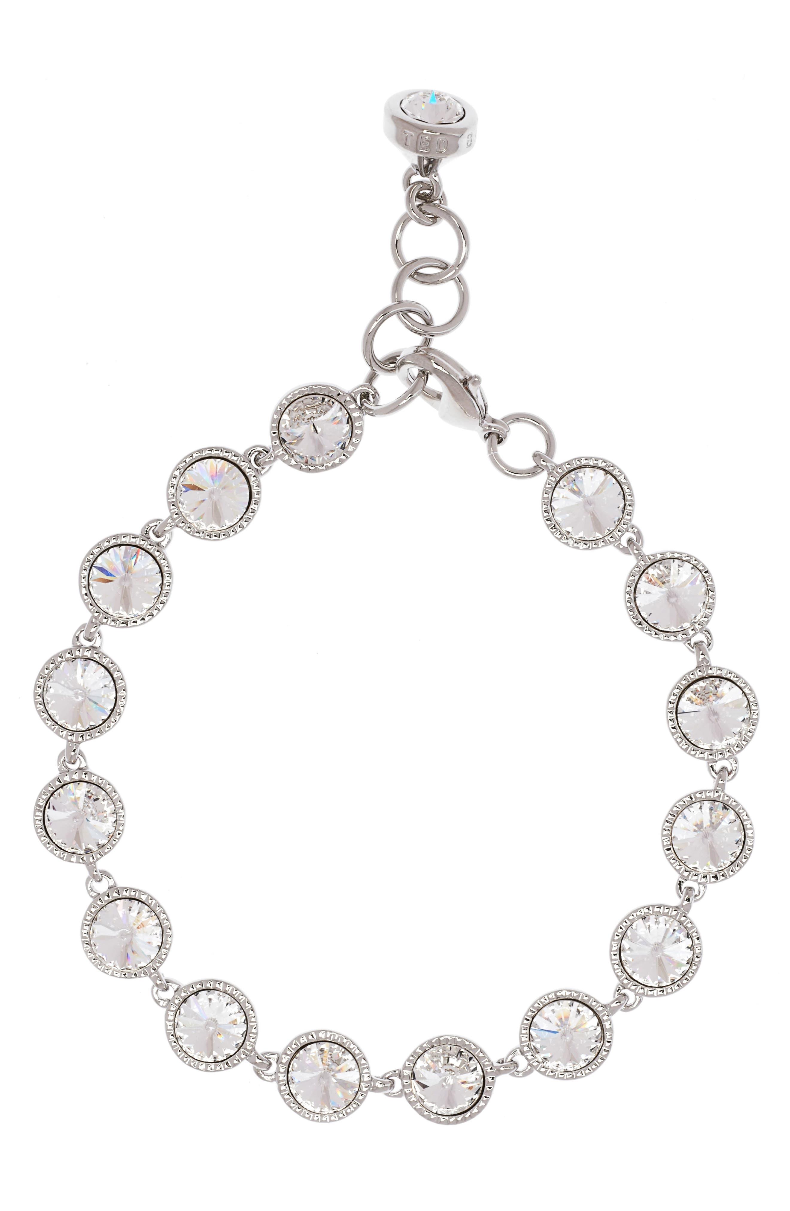 Main Image - Ted Baker London Rivoli Crystal Line Bracelet