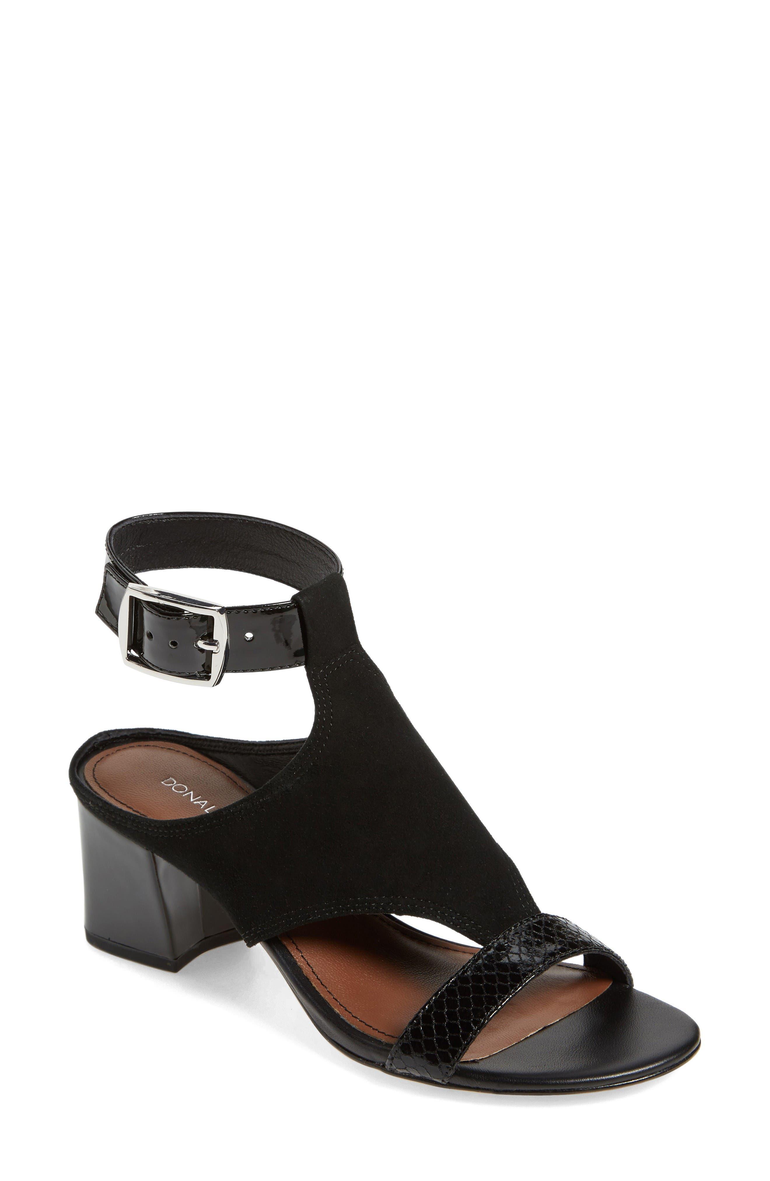 Alternate Image 1 Selected - Donald J Pliner Ellee Block Heel Sandal (Women)