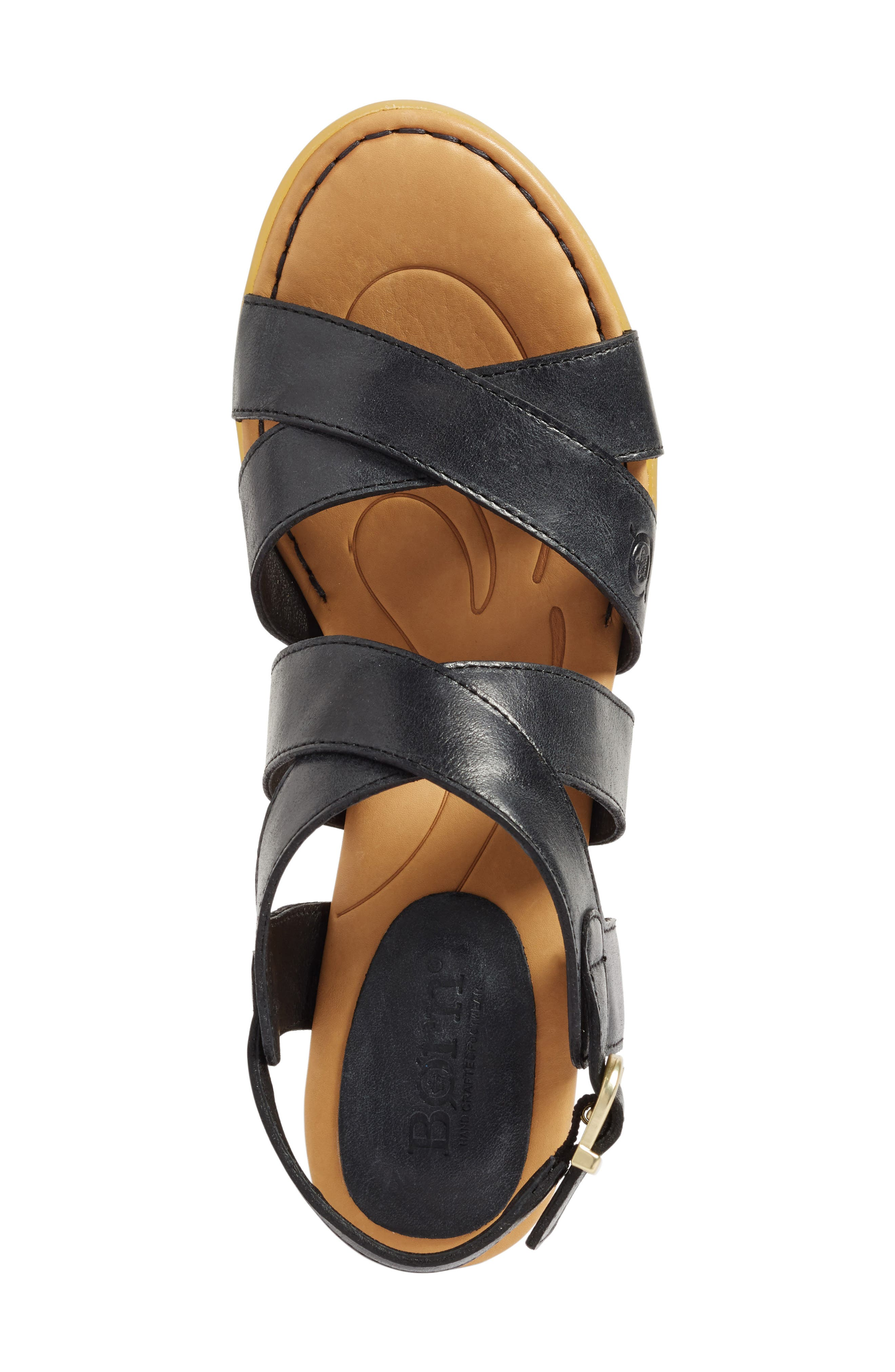 Alternate Image 3  - Børn Alisha Block Heel Sandal (Women)