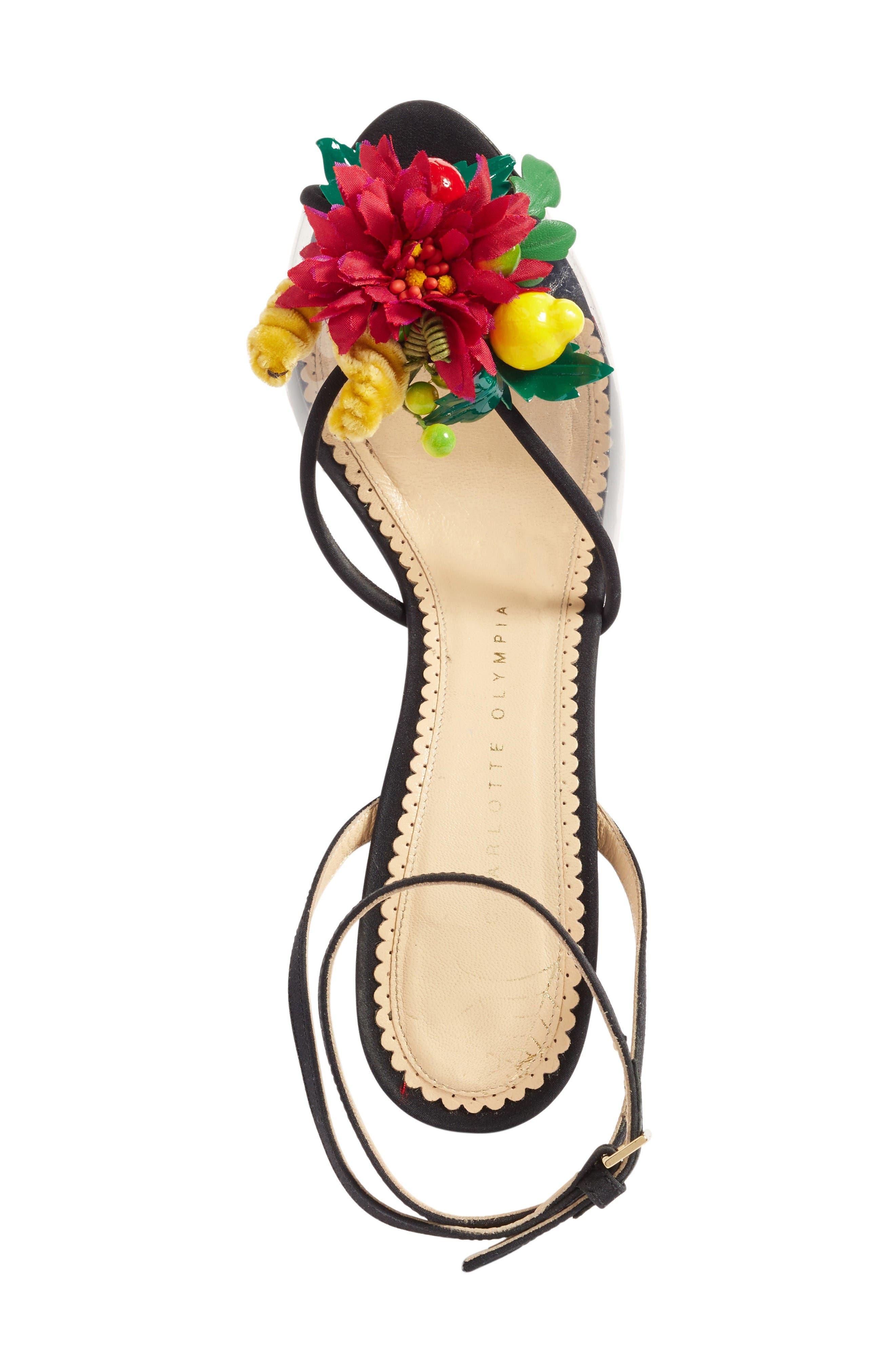 Alternate Image 3  - Charlotte Olympia Tropicana Ankle Strap Sandal (Women)