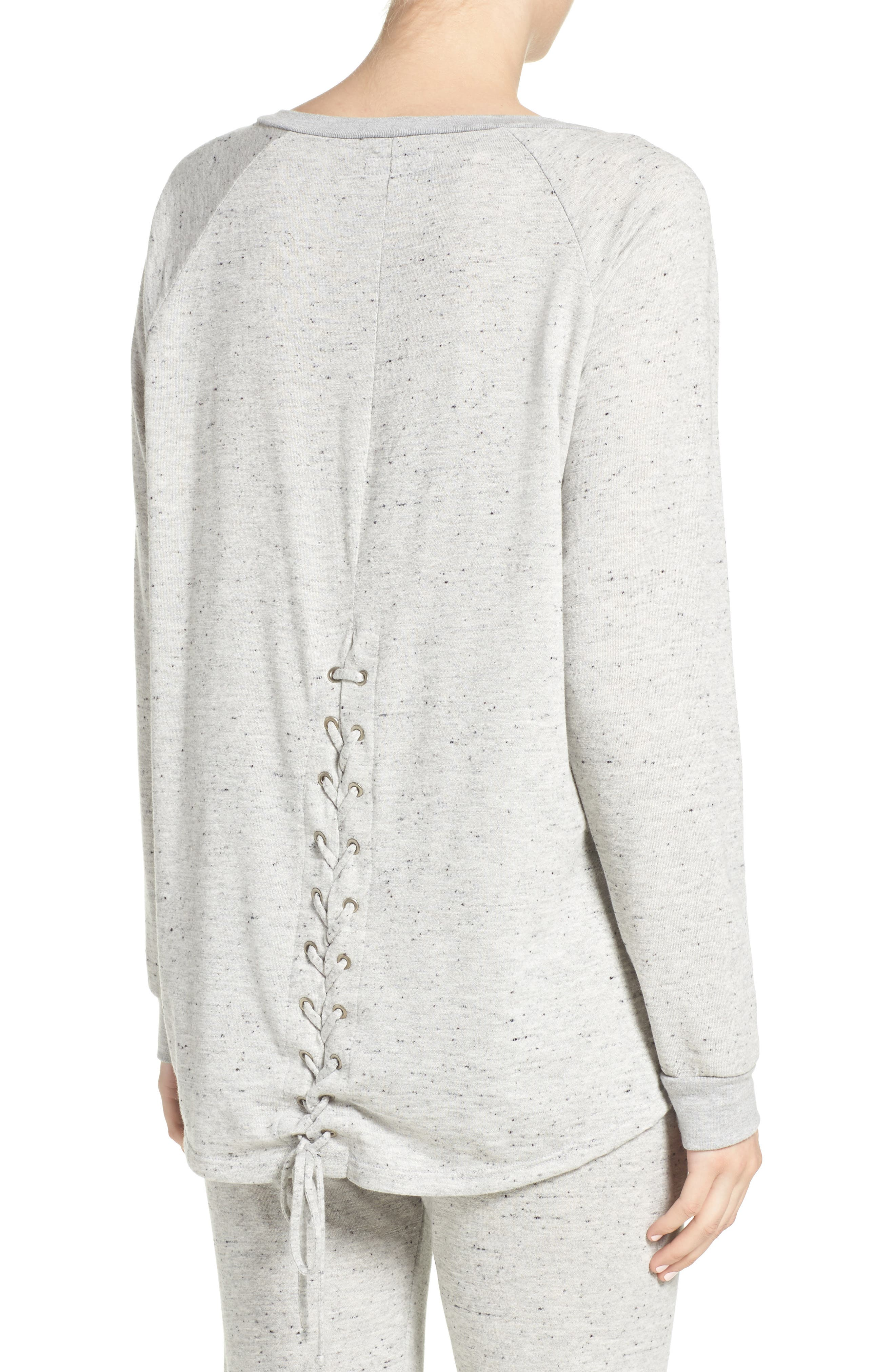 Alternate Image 2  - Michael Lauren Zuma Lounge Sweatshirt