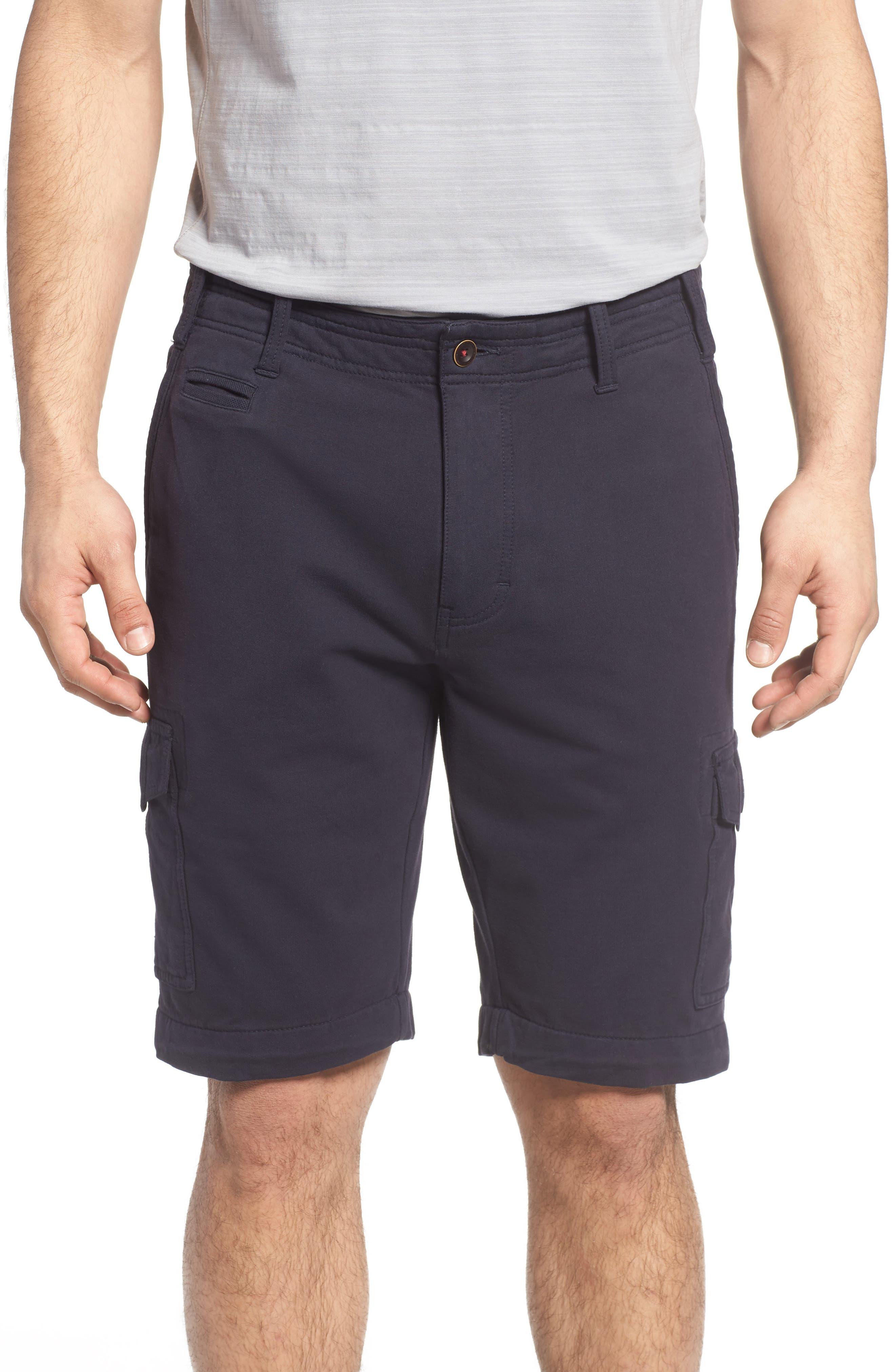 Thaddeus Carlton Knit Cargo Shorts
