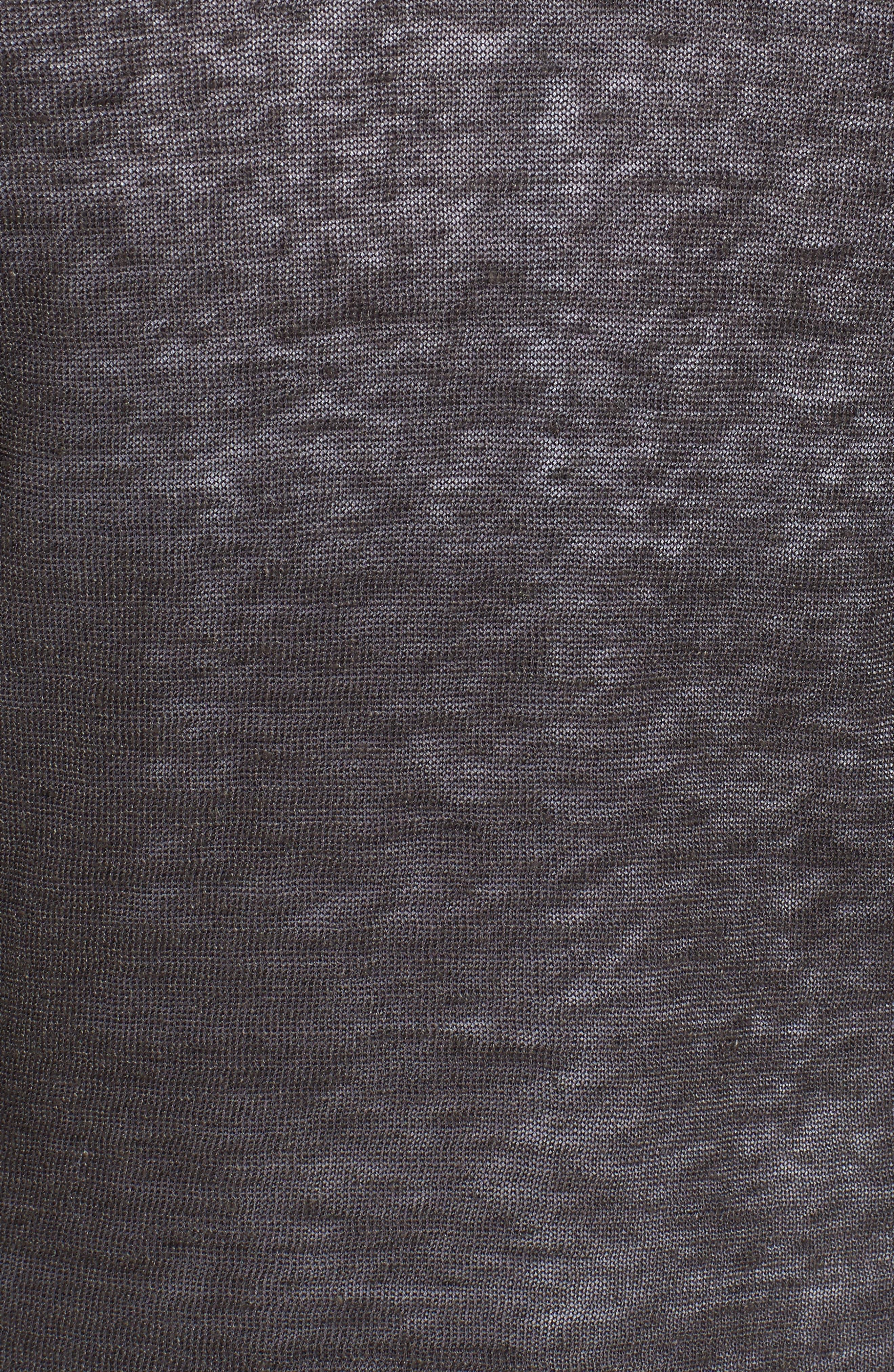 Alternate Image 5  - NIC+ZOE 4-Way Convertible Three Quarter Sleeve Cardigan (Regular and Petite)