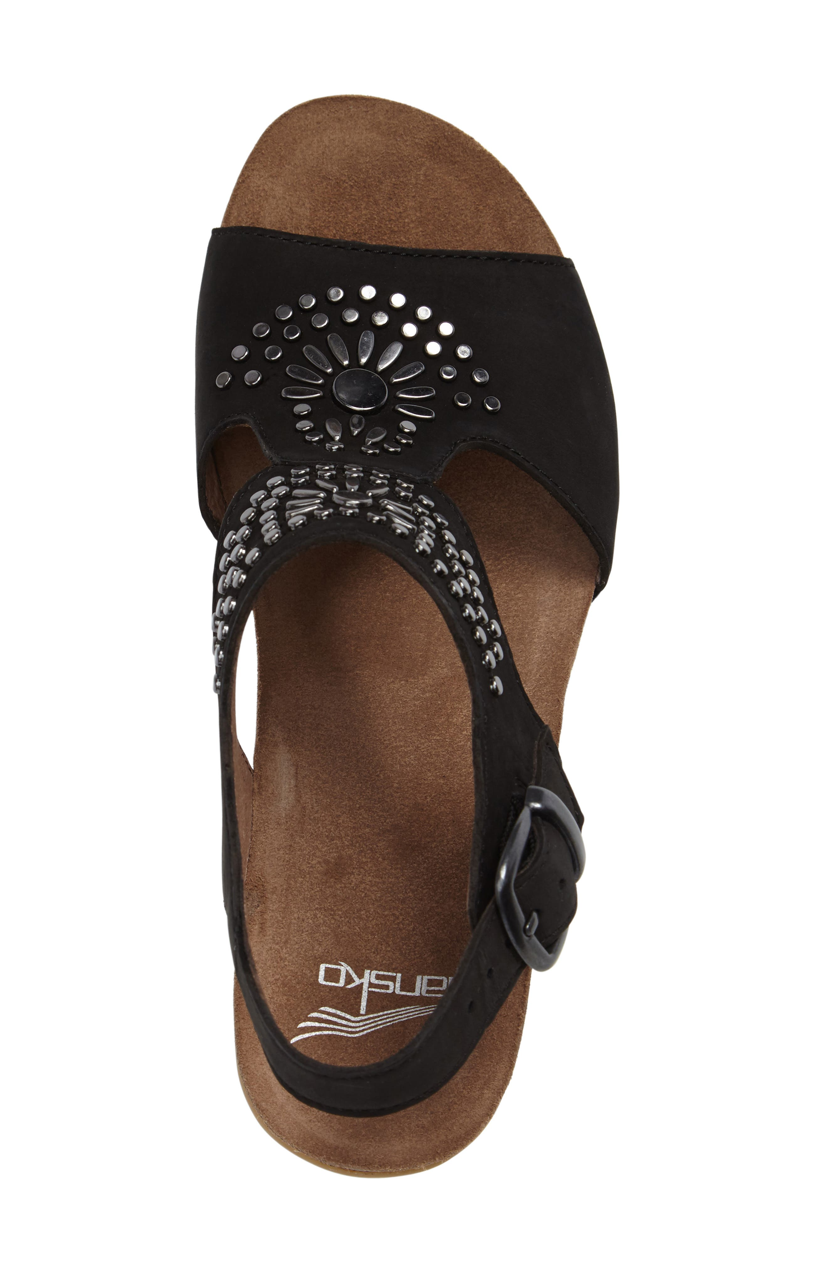 Alternate Image 3  - Dansko Deandra Studded Sandal (Women)