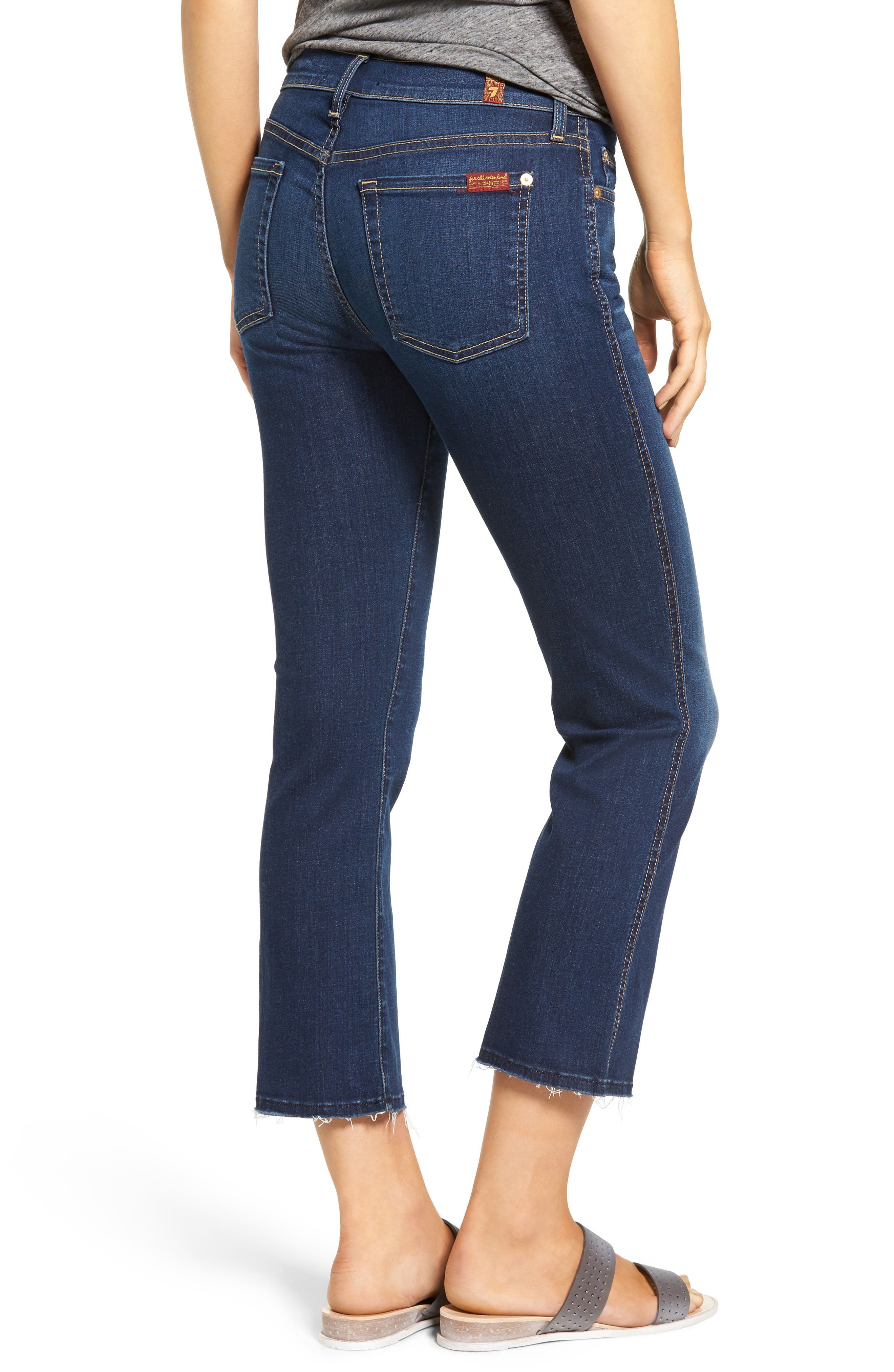 Alternate Image 2  - 7 For All Mankind® b(air) Crop Bootcut Jeans (Bair Duchess)