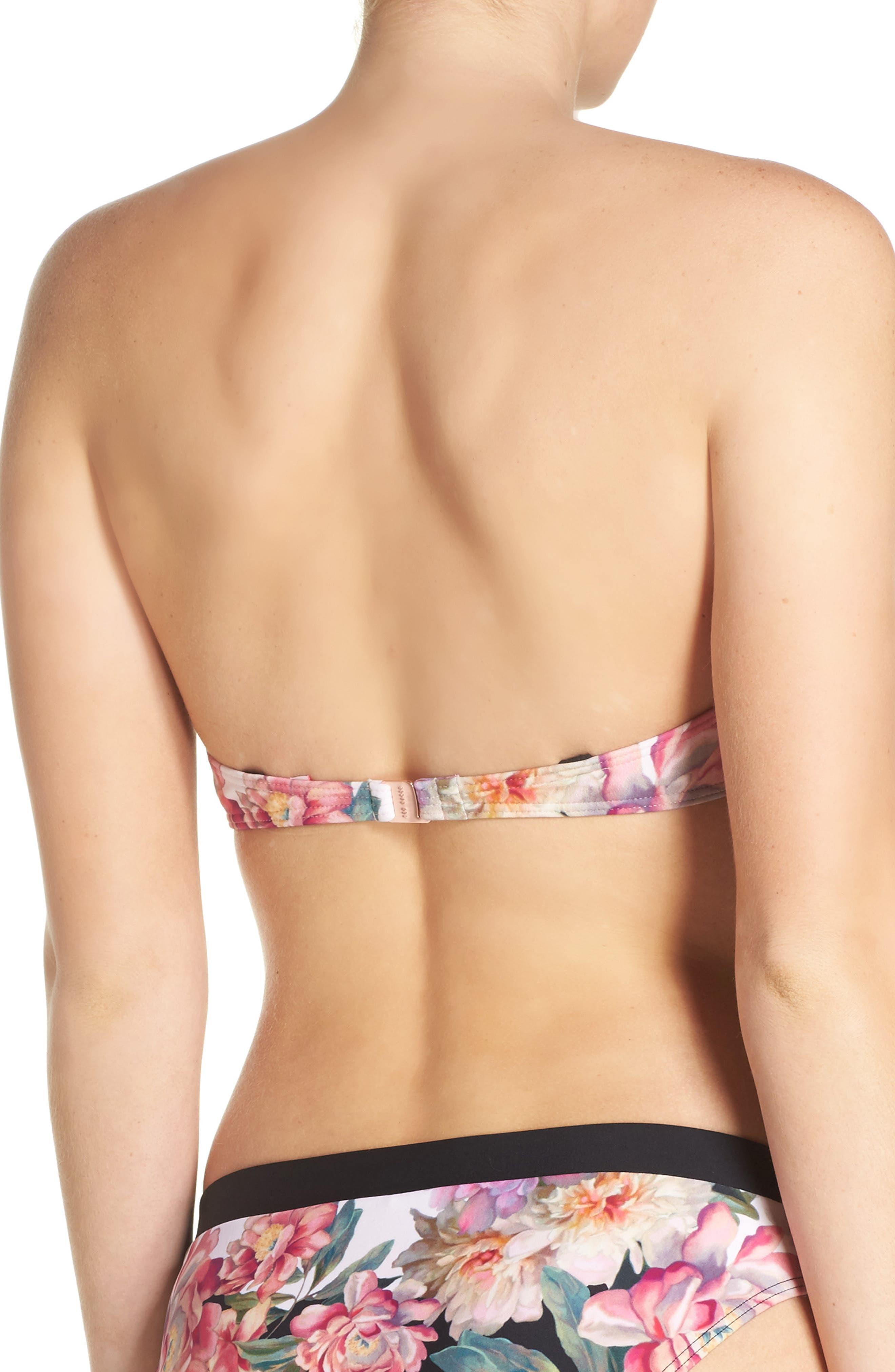 Alternate Image 2  - Ted Baker London Strapless Bikini Top