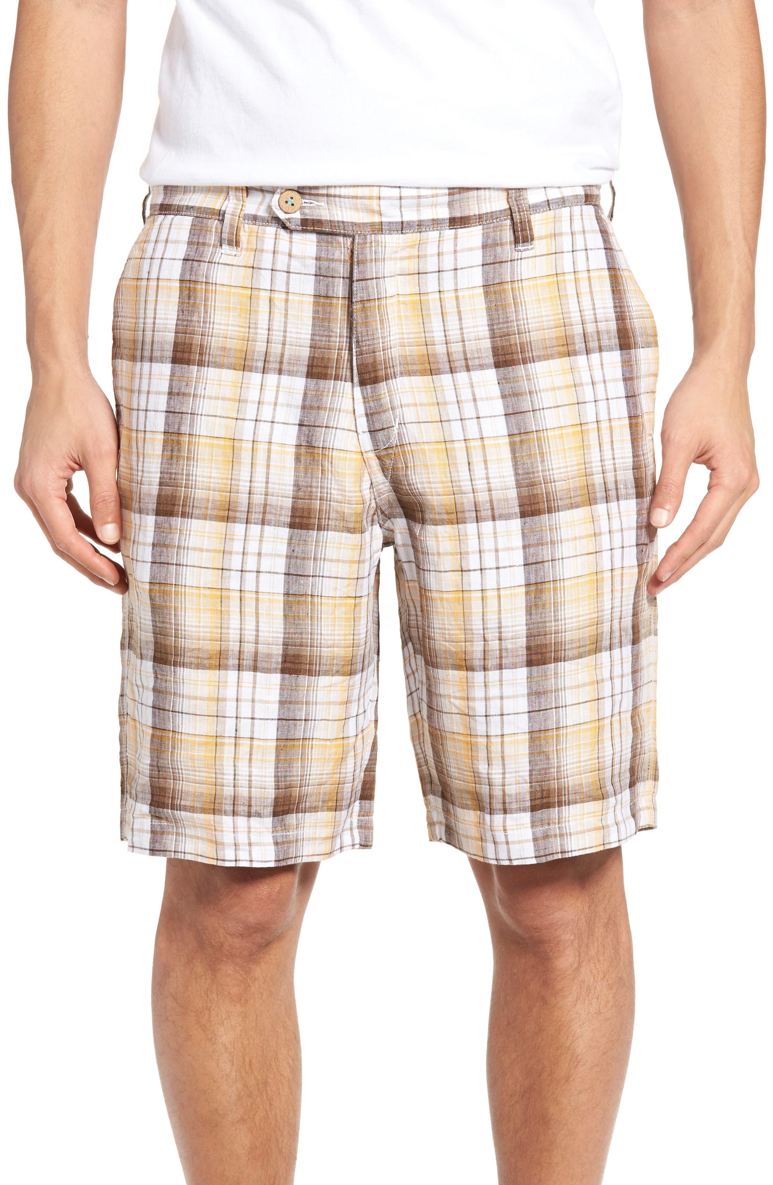 Alternate Image 1 Selected - Tommy Bahama Island Duo Reversible Linen Shorts
