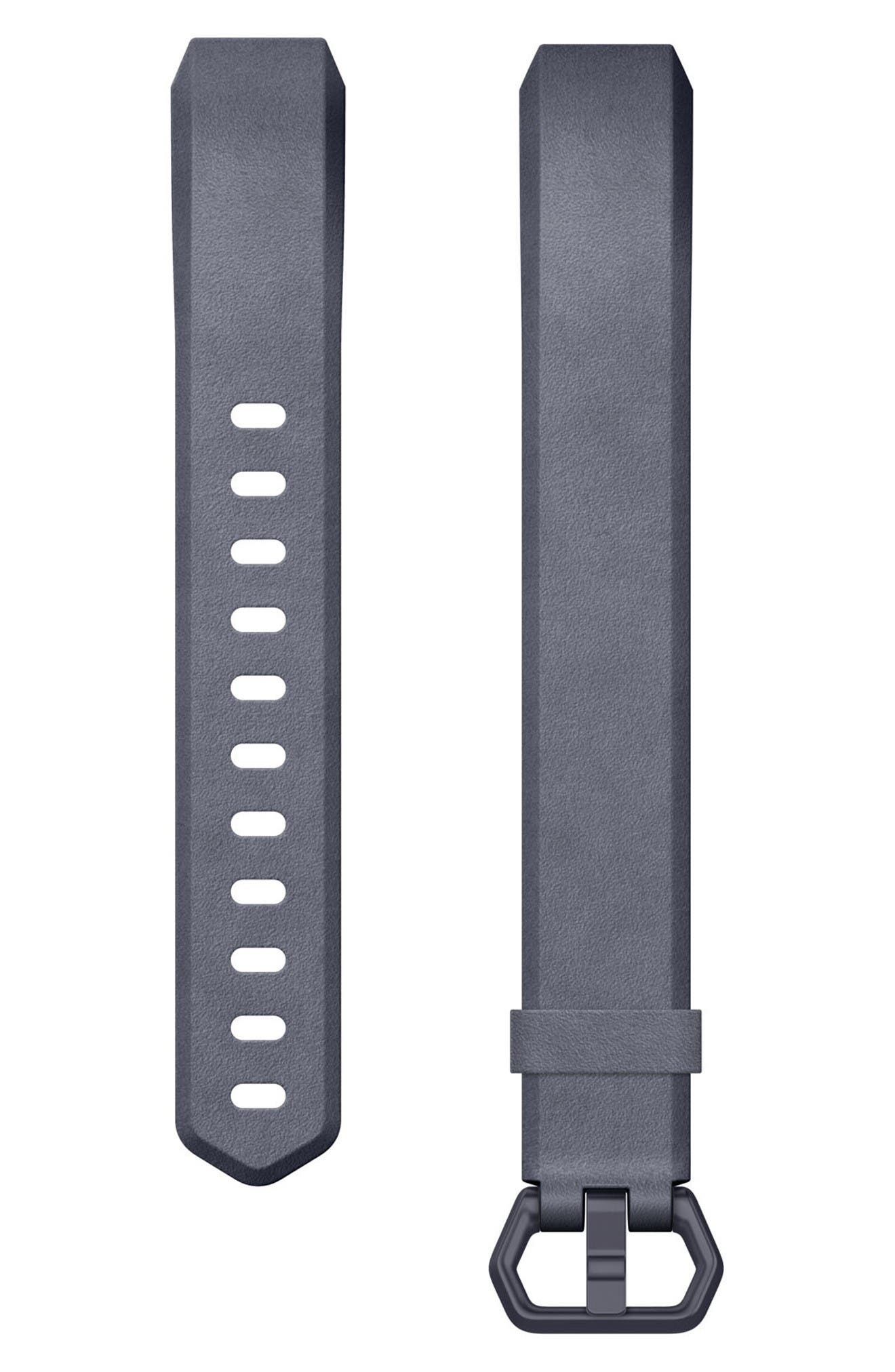 Alternate Image 1 Selected - Fitbit Alta HR Leather Accessory Band