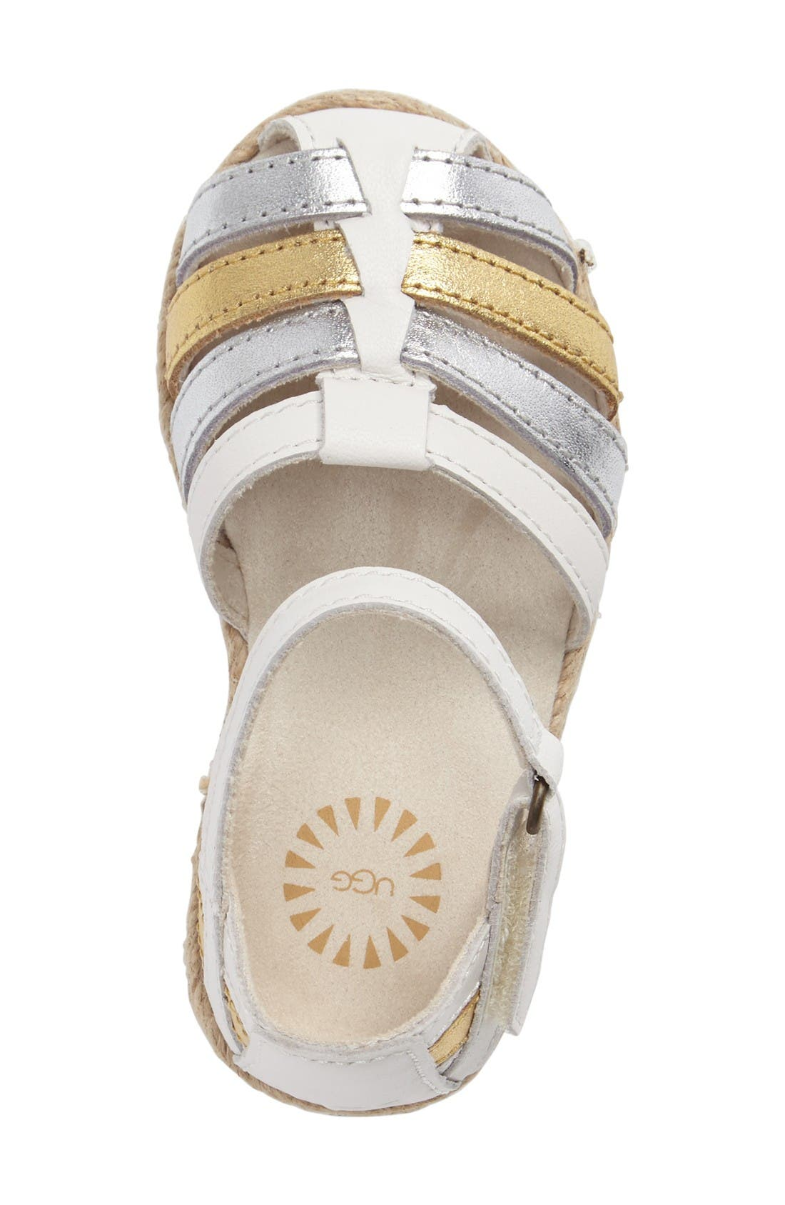 Alternate Image 5  - UGG® Matilde Espadrille Sandal (Walker & Toddler)