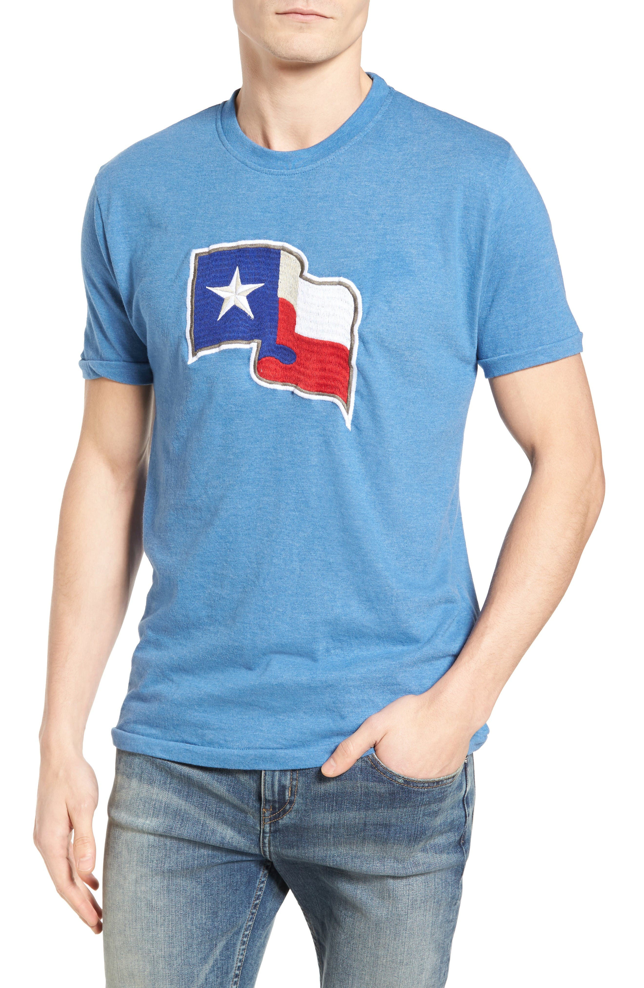 Hillwood Texas Rangers T-Shirt,                         Main,                         color, Royal