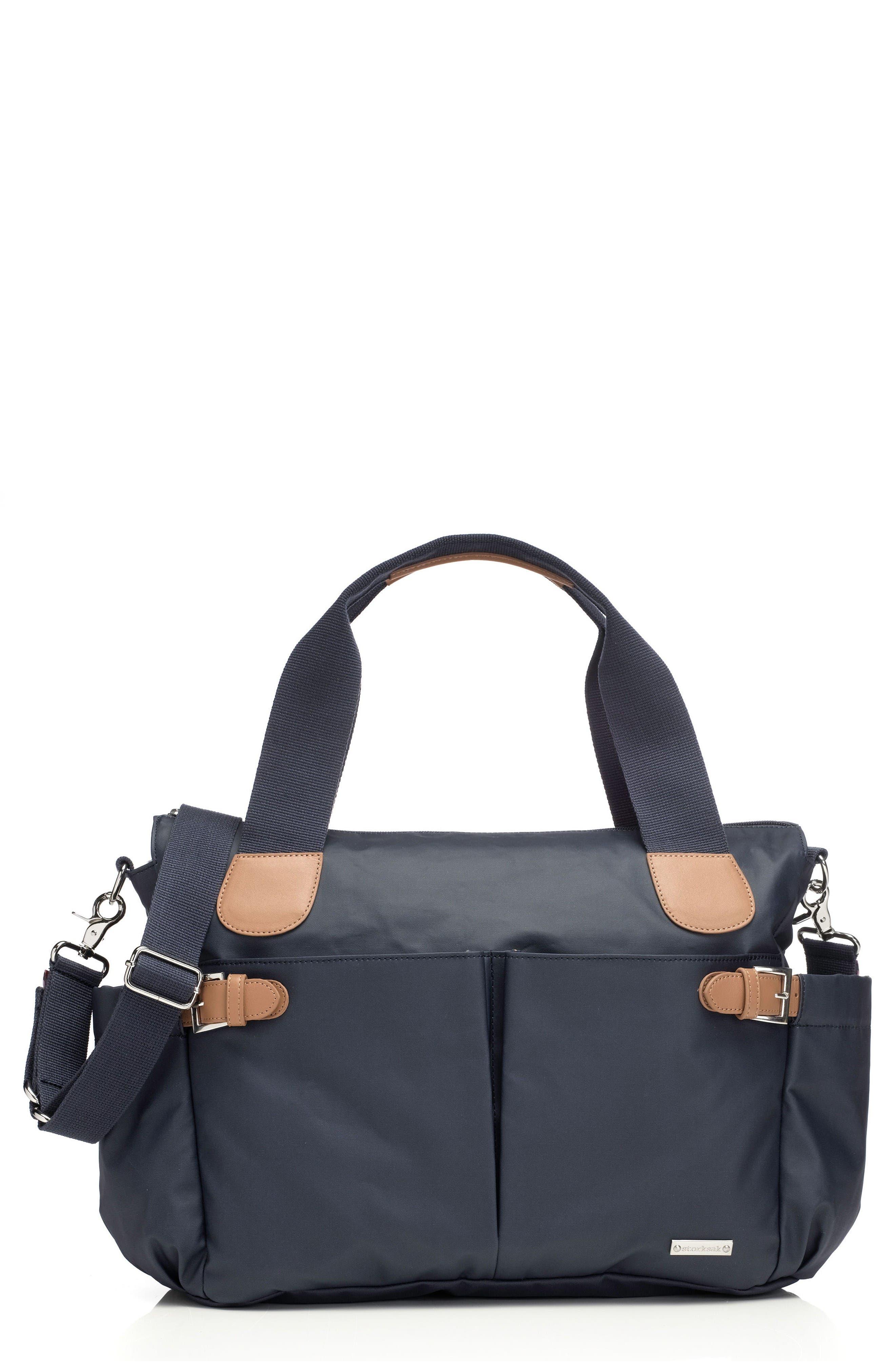 Alternate Image 1 Selected - Storksak 'Kay' Diaper Bag