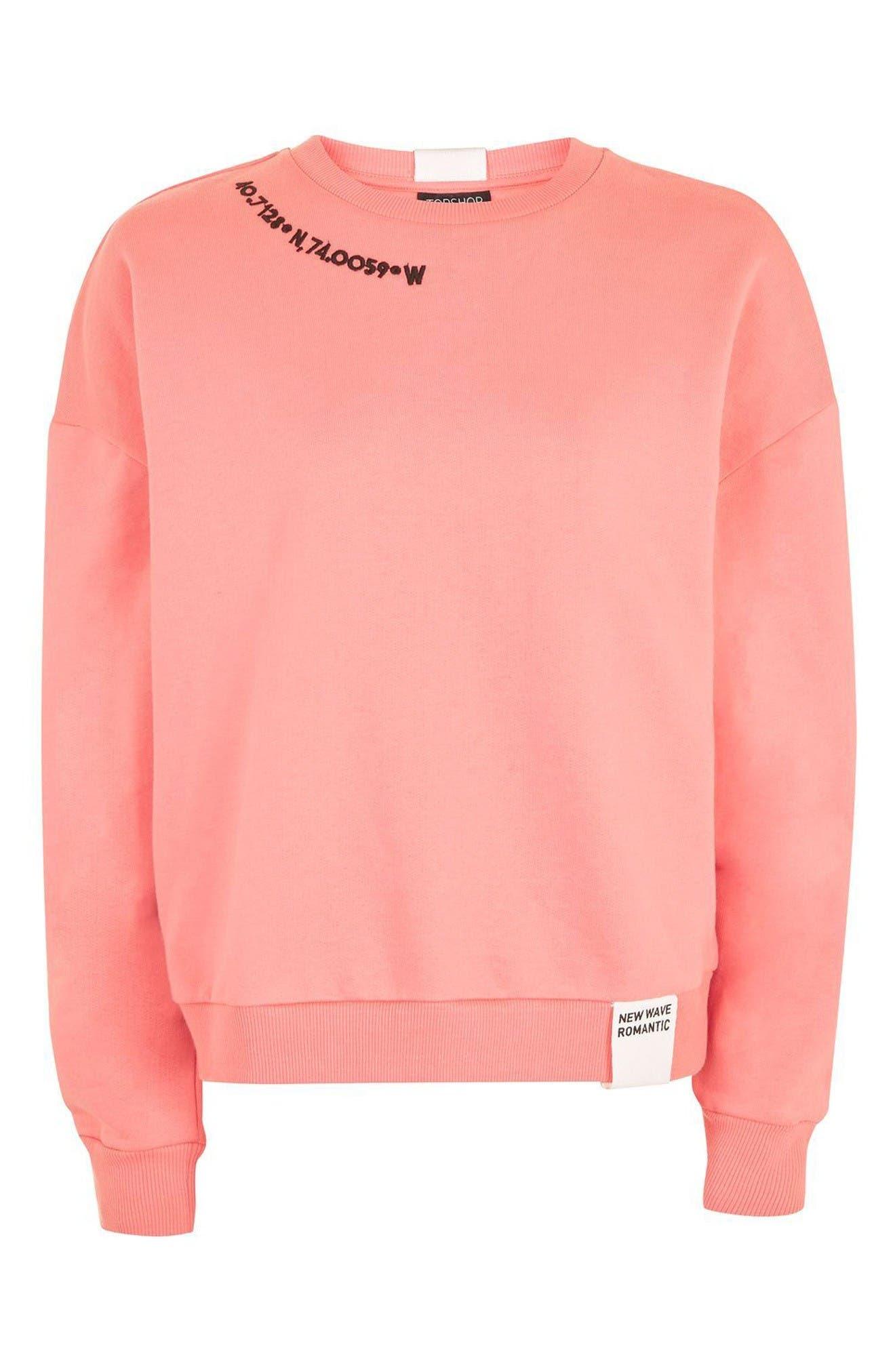 Alternate Image 4  - Topshop Romance Sweatshirt