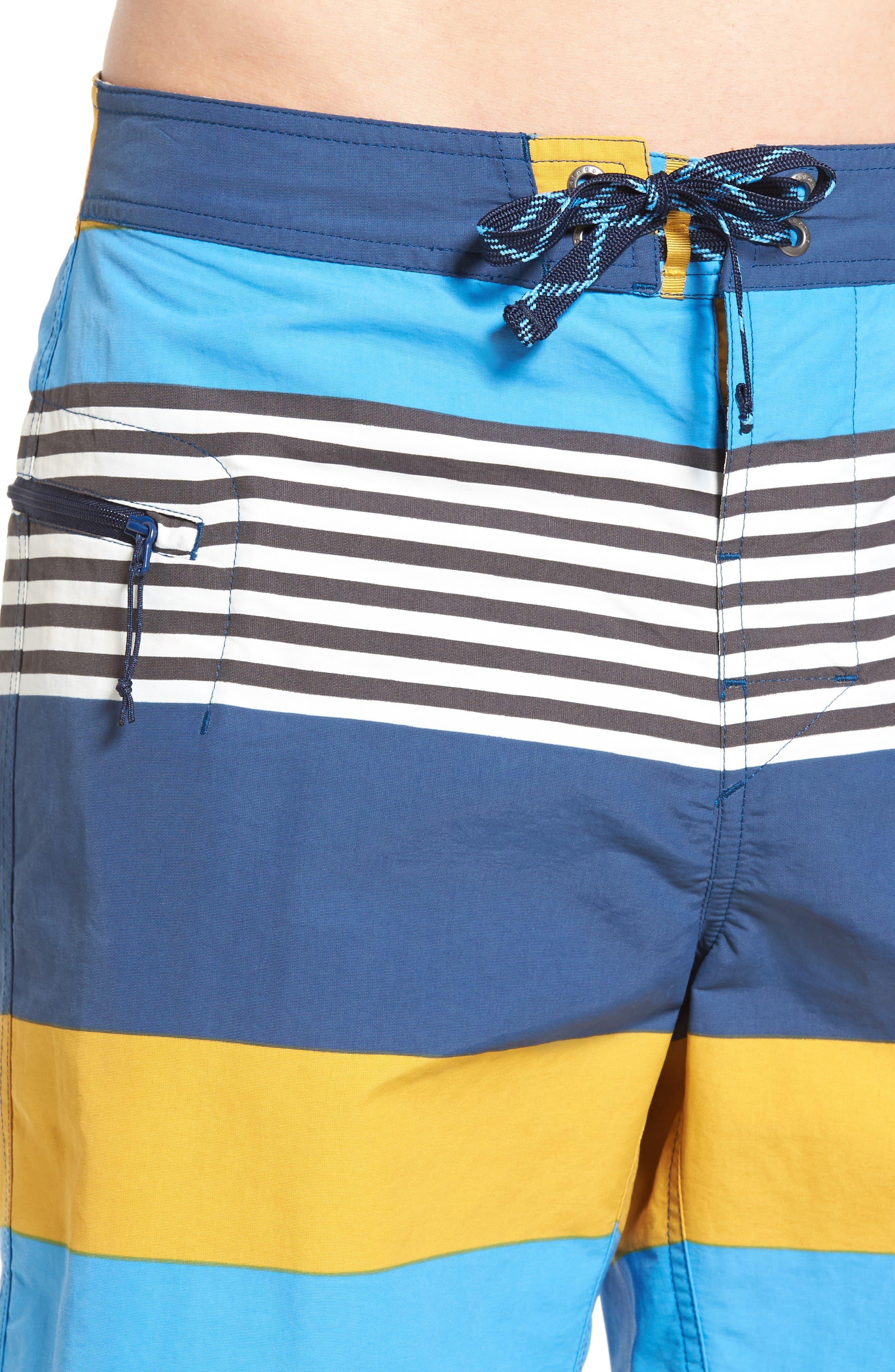 Wavefarer Board Shorts,                             Alternate thumbnail 4, color,                             Yurt Yellow