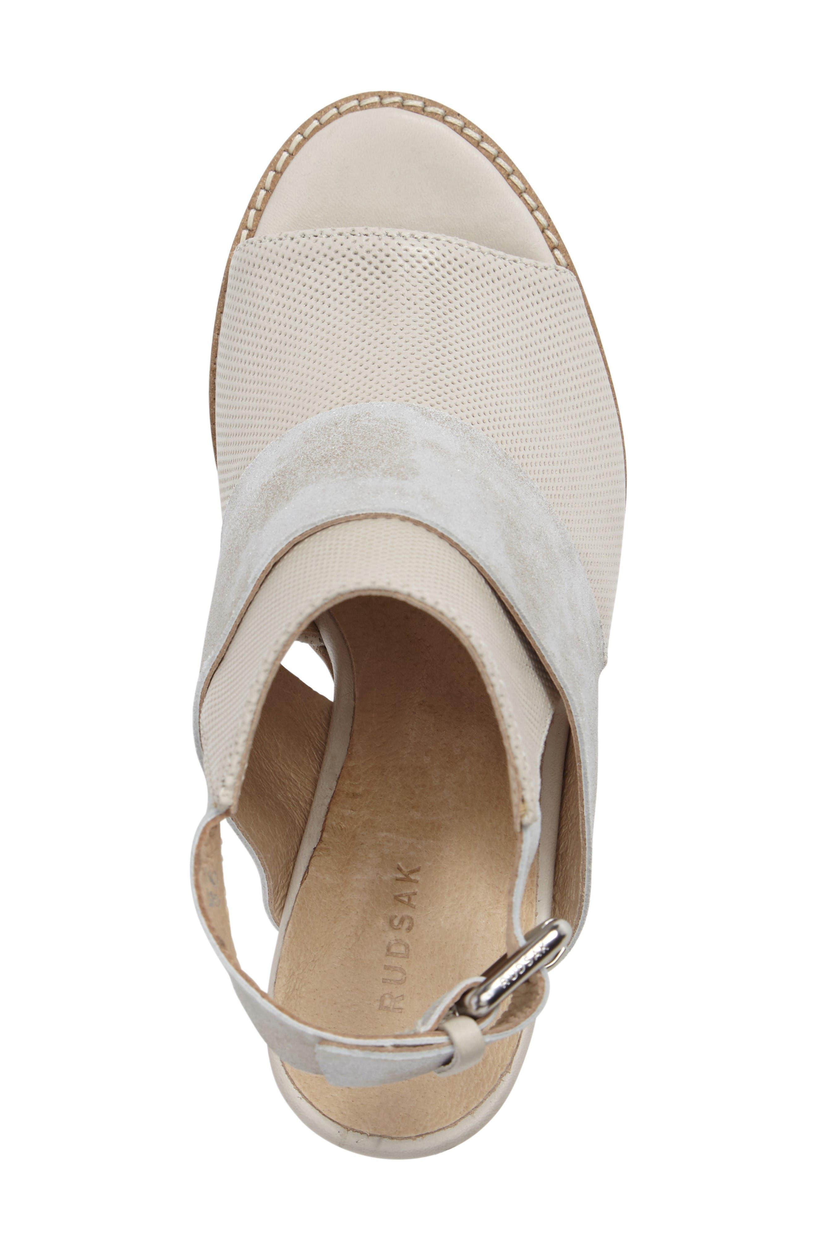Alternate Image 5  - Rudsak Brittni Block Heel Sandal (Women)