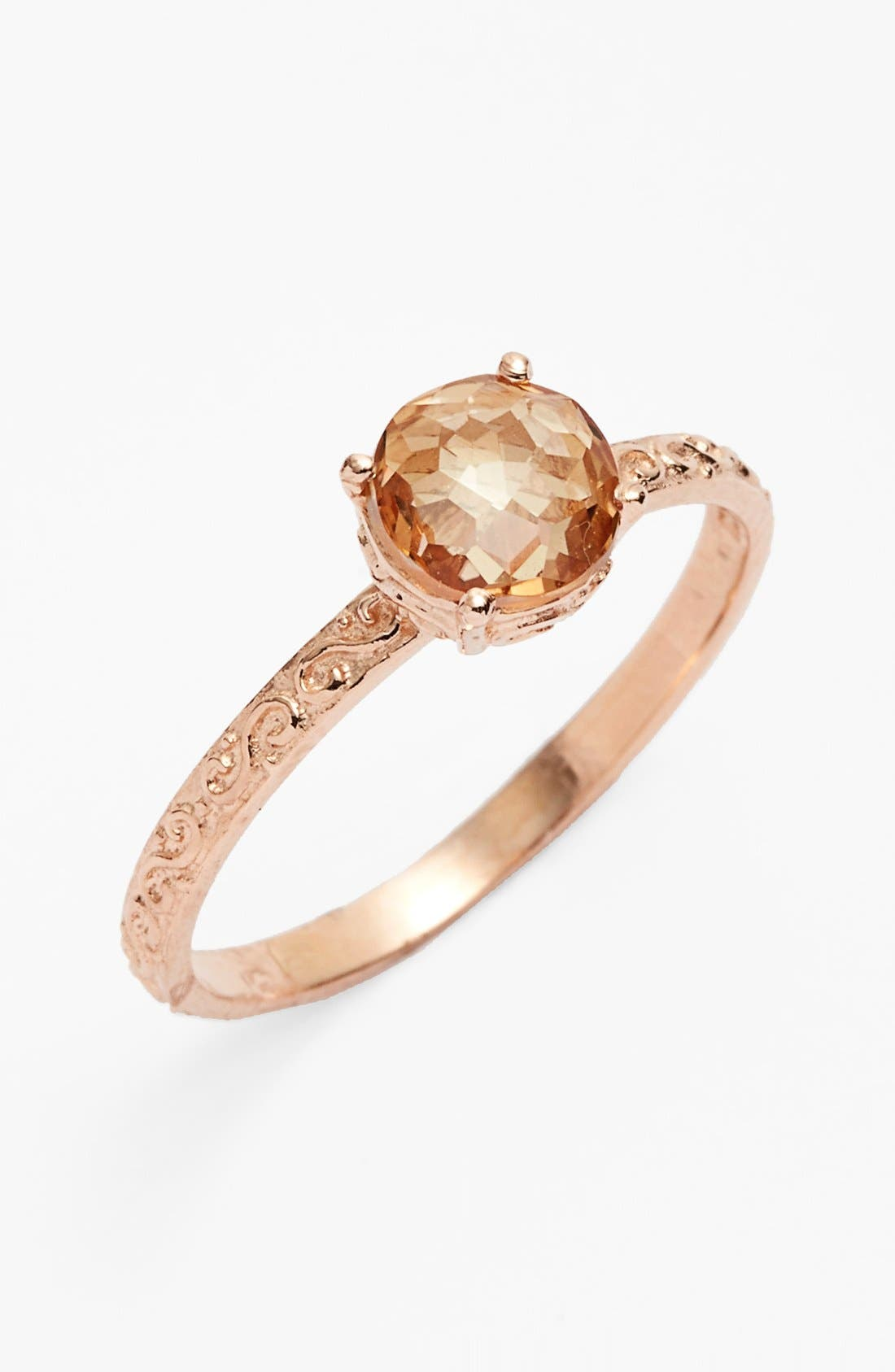 Alternate Image 1 Selected - KALAN by Suzanne Kalan Cushion Stone Filigree Ring