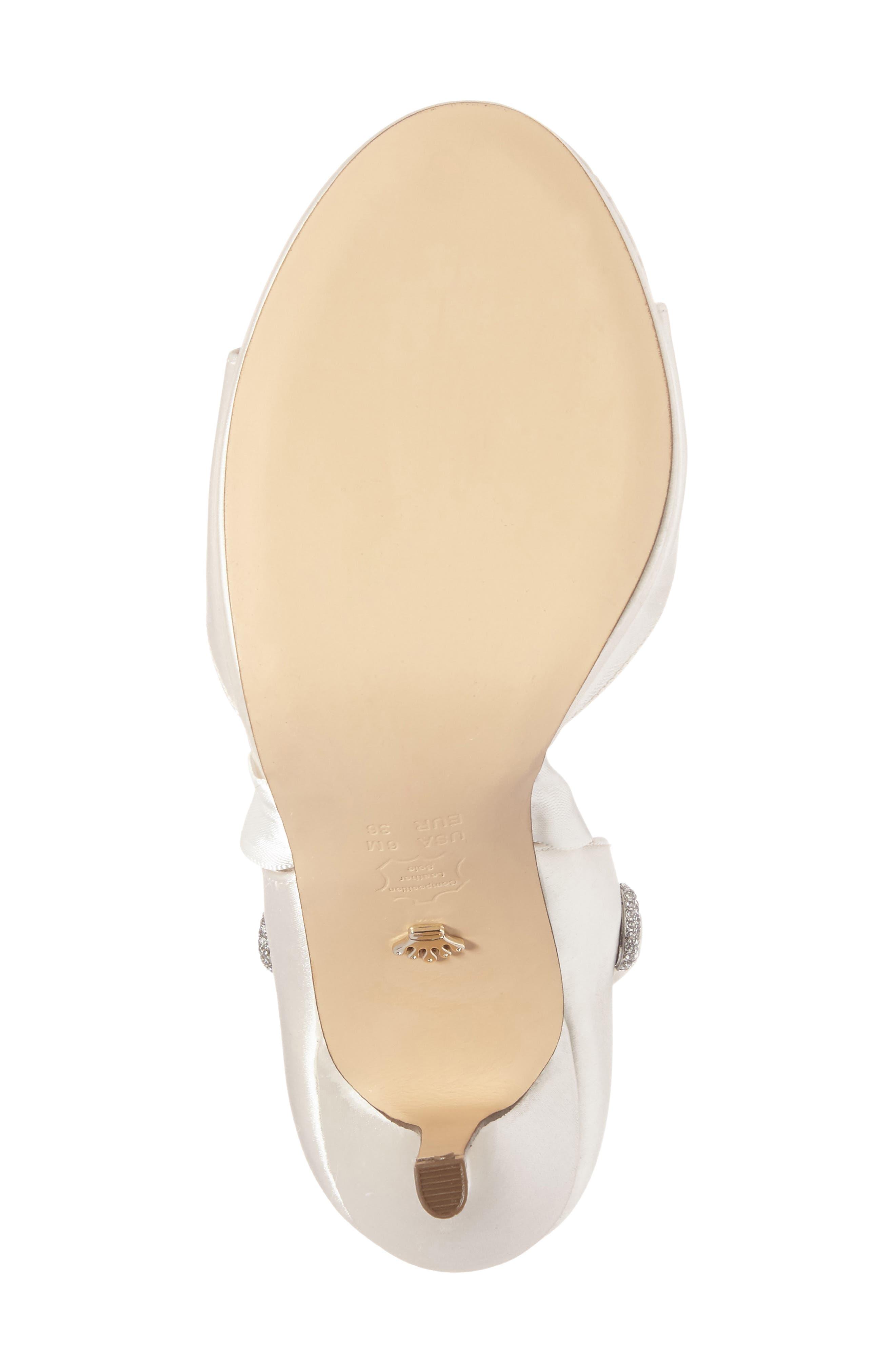 Alternate Image 5  - Nina Ramira Ankle Tie Sandal (Women)