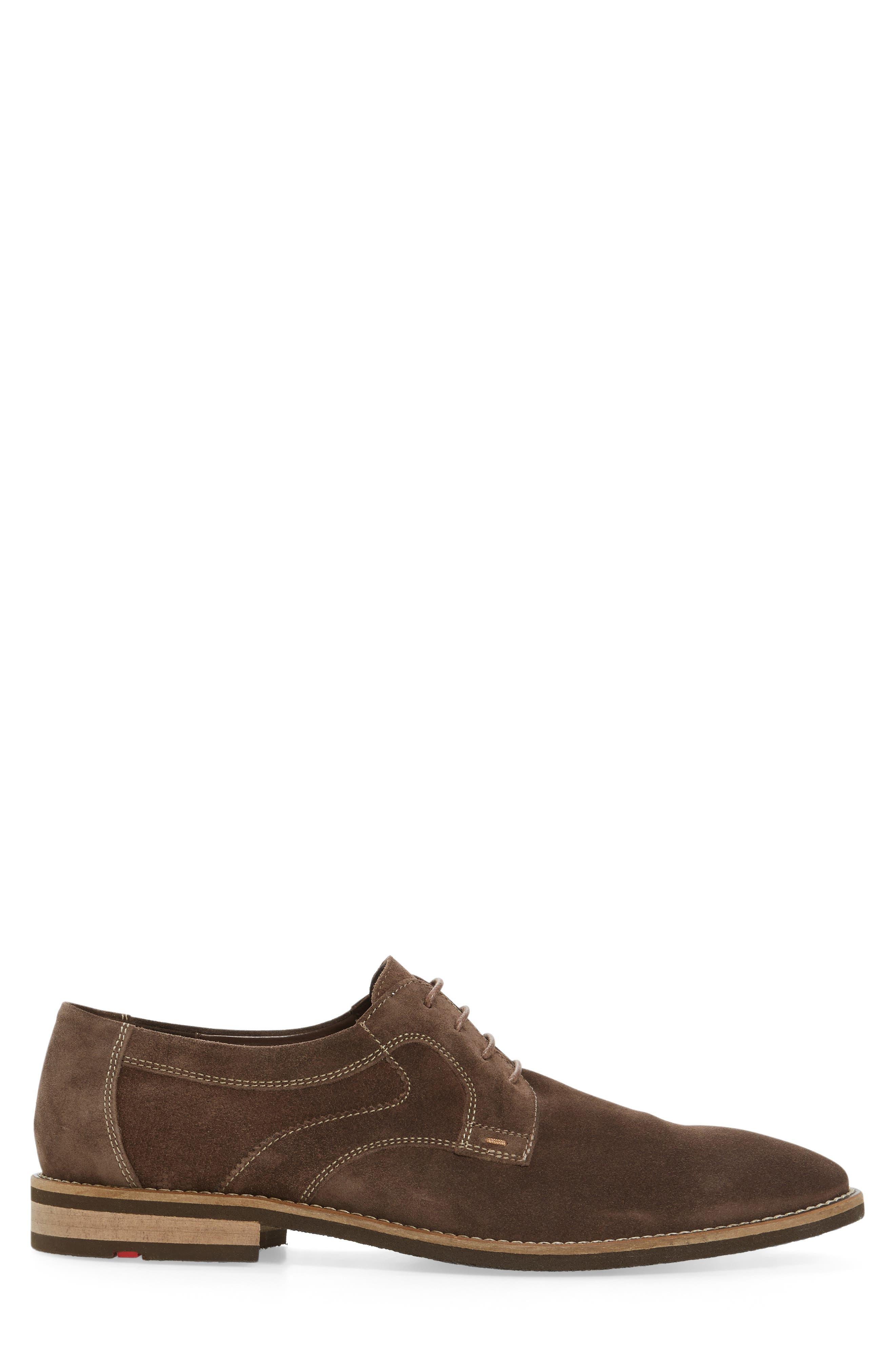 Haarlem Buck Shoe,                             Alternate thumbnail 3, color,                             Noce Brown