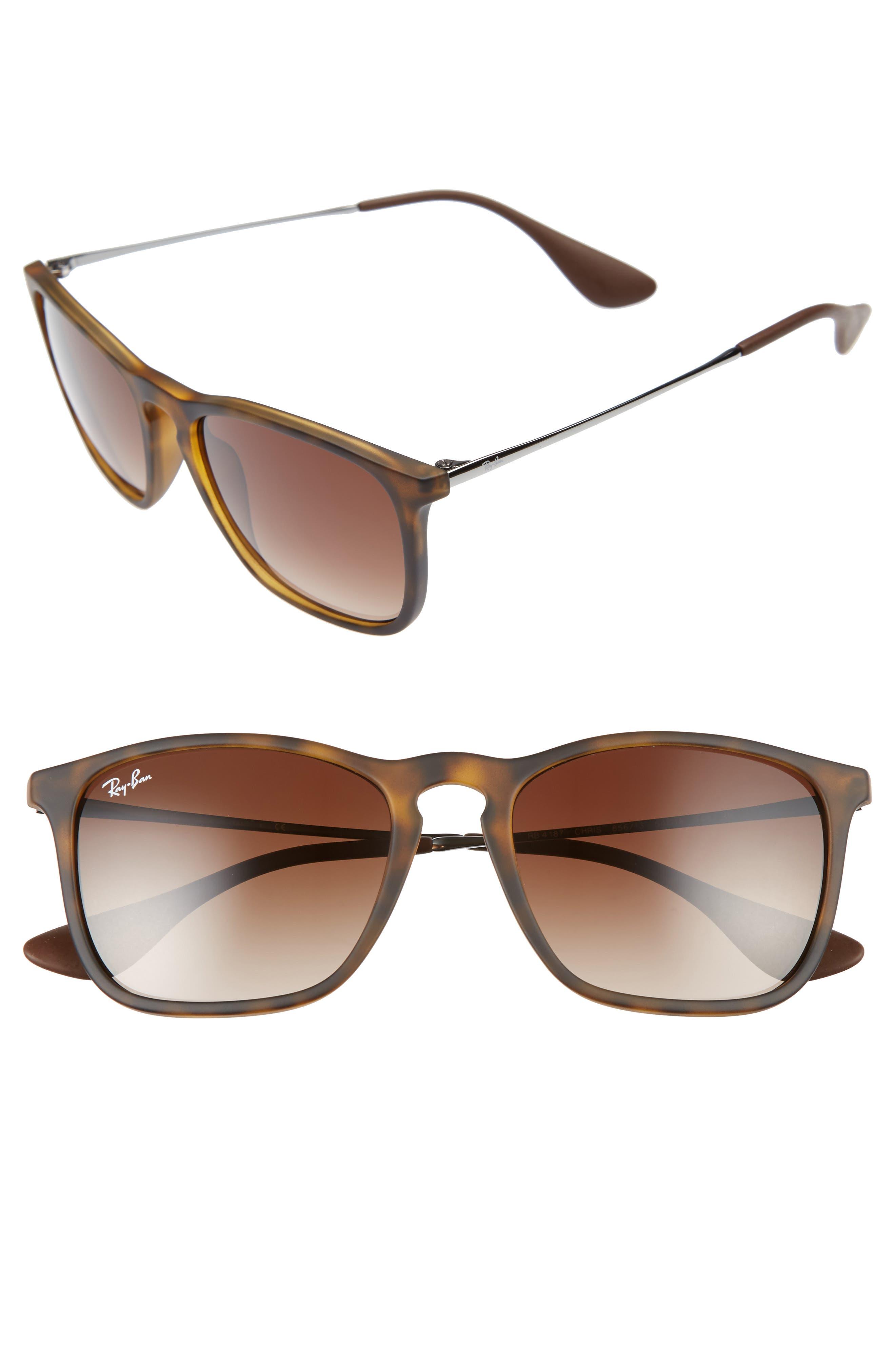 Main Image - Ray-Ban Chris 54mm Gradient Lens Sunglasses