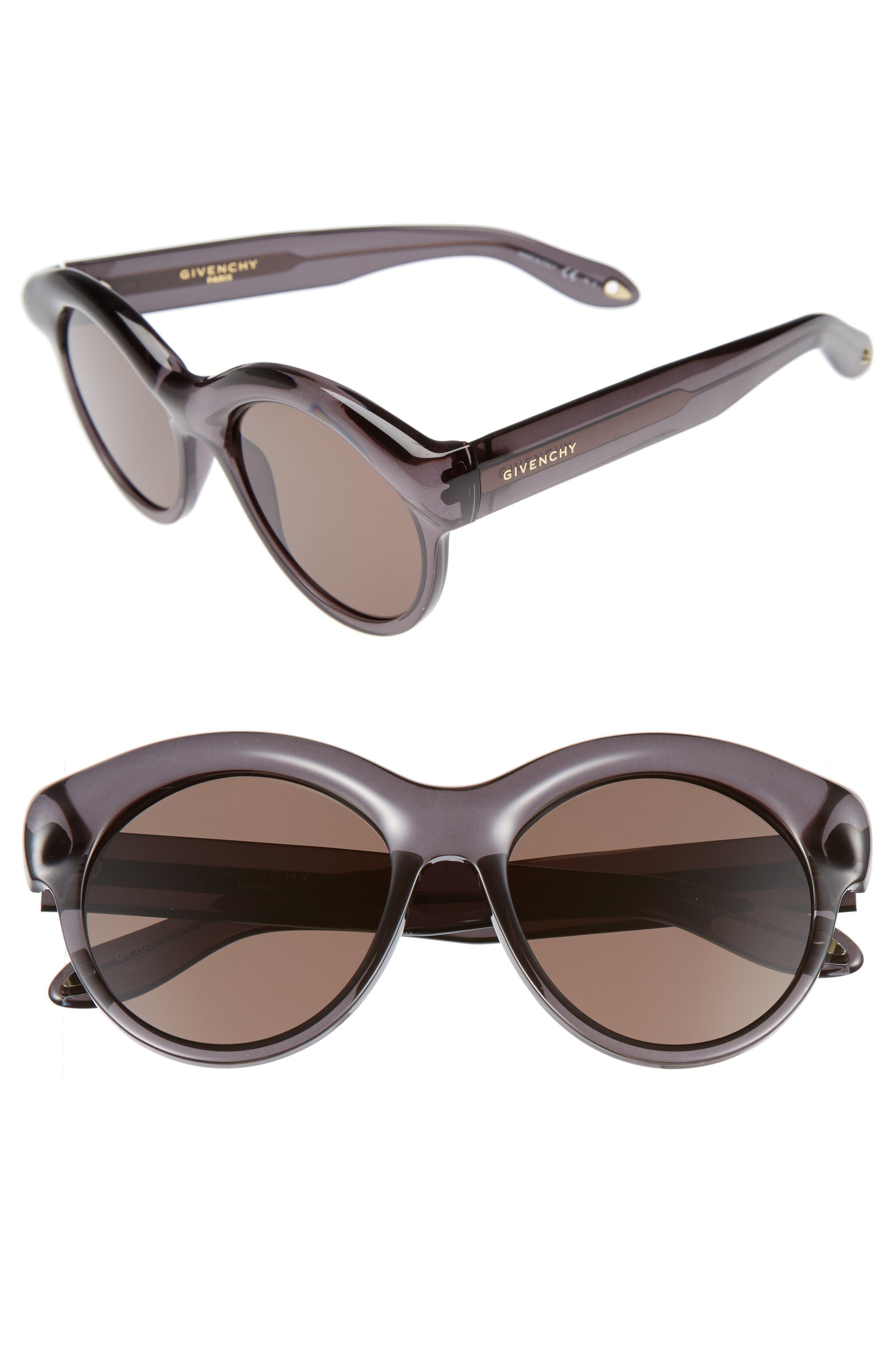 54mm Sunglasses,                             Main thumbnail 1, color,                             Grey