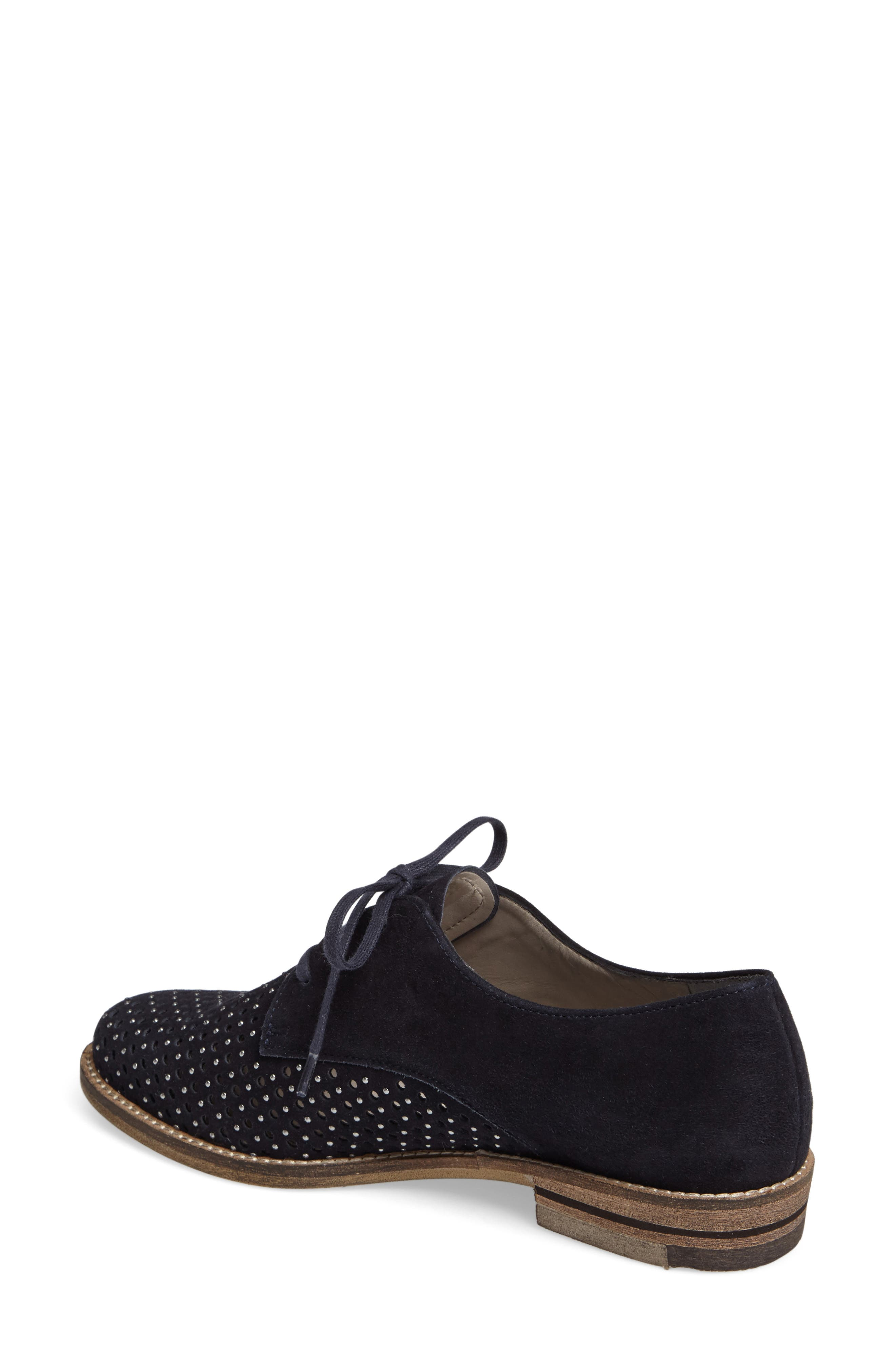 Kyleigh Studded Oxford,                             Alternate thumbnail 2, color,                             Midnight Suede