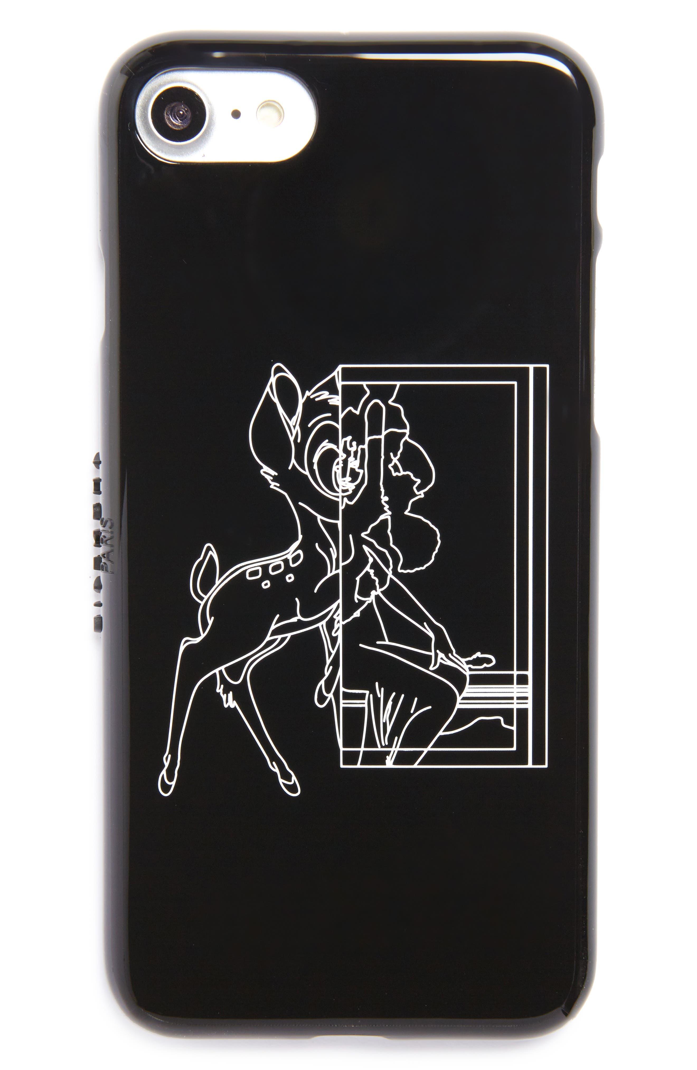 Alternate Image 1 Selected - Givenchy x Disney Bambi® Tech iPhone 7 Case