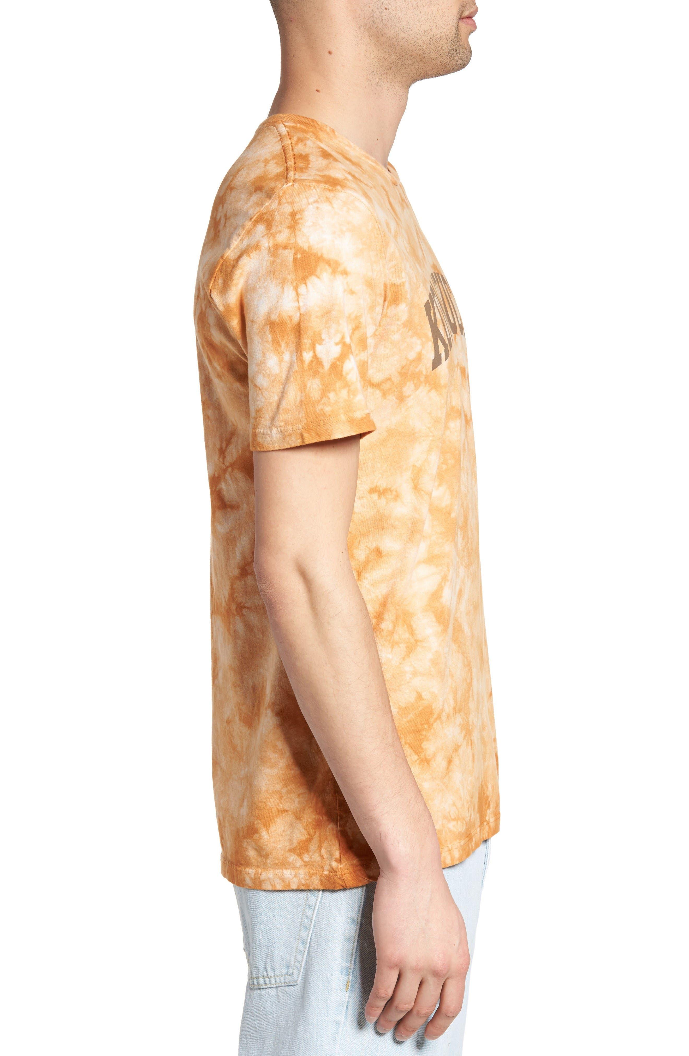 Tie Dye Kombucha Graphic T-Shirt,                             Alternate thumbnail 3, color,                             Cloud Desert Sand
